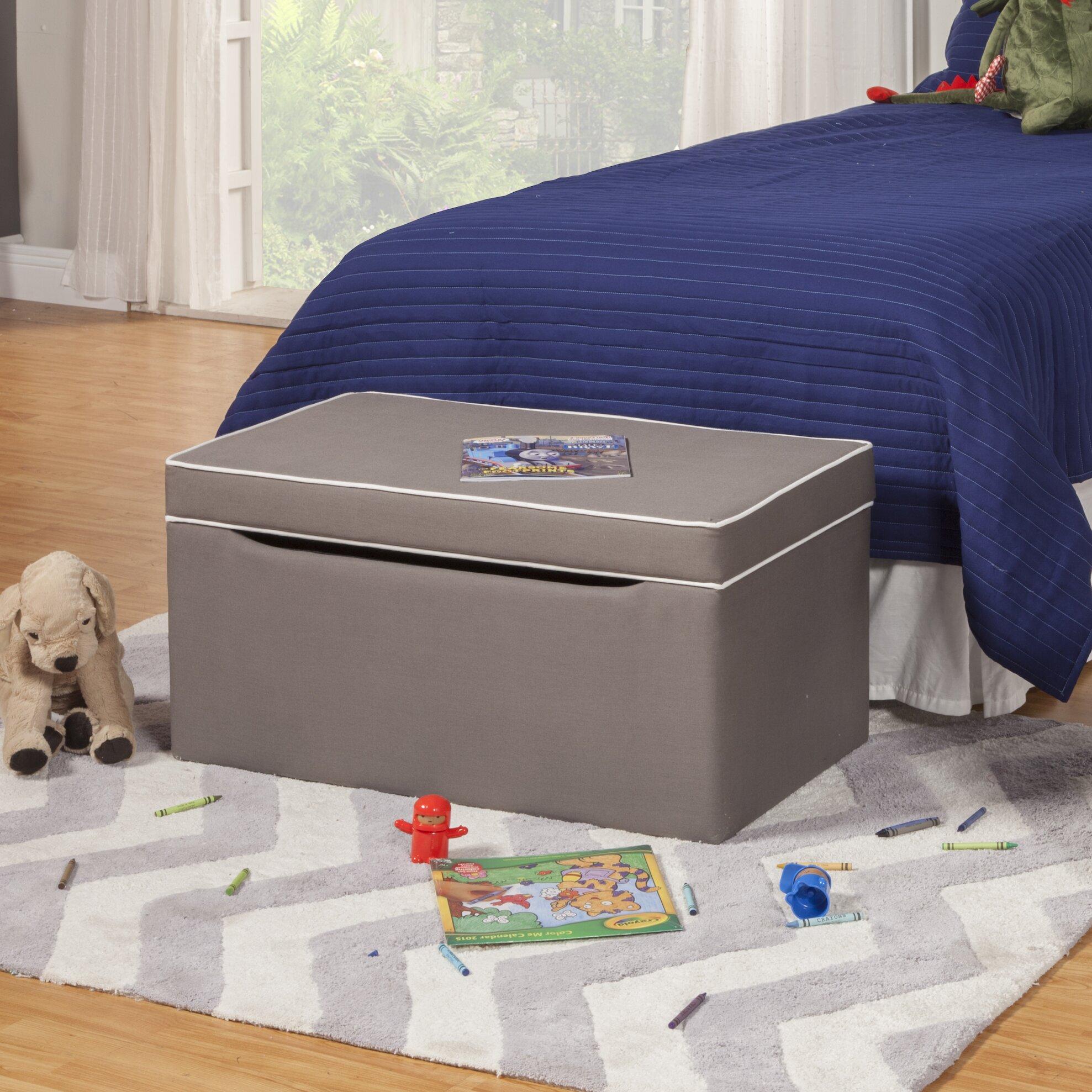 HomePop Storage Bedroom Bench & Reviews