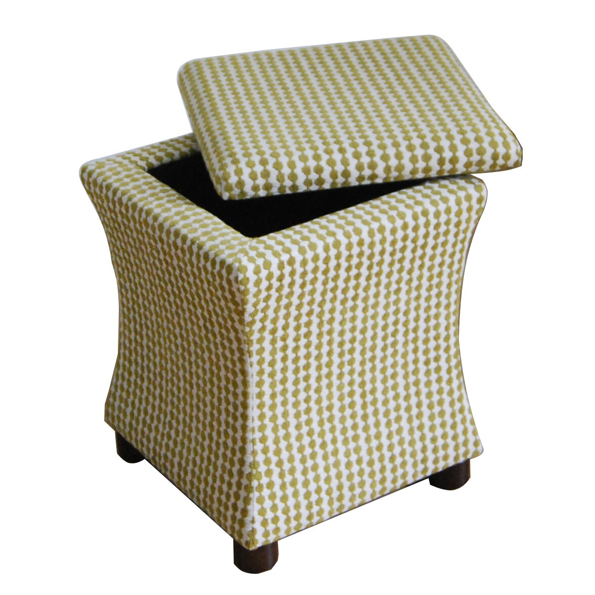 Homepop Fey Upholstered Storage Cube Ottoman Reviews