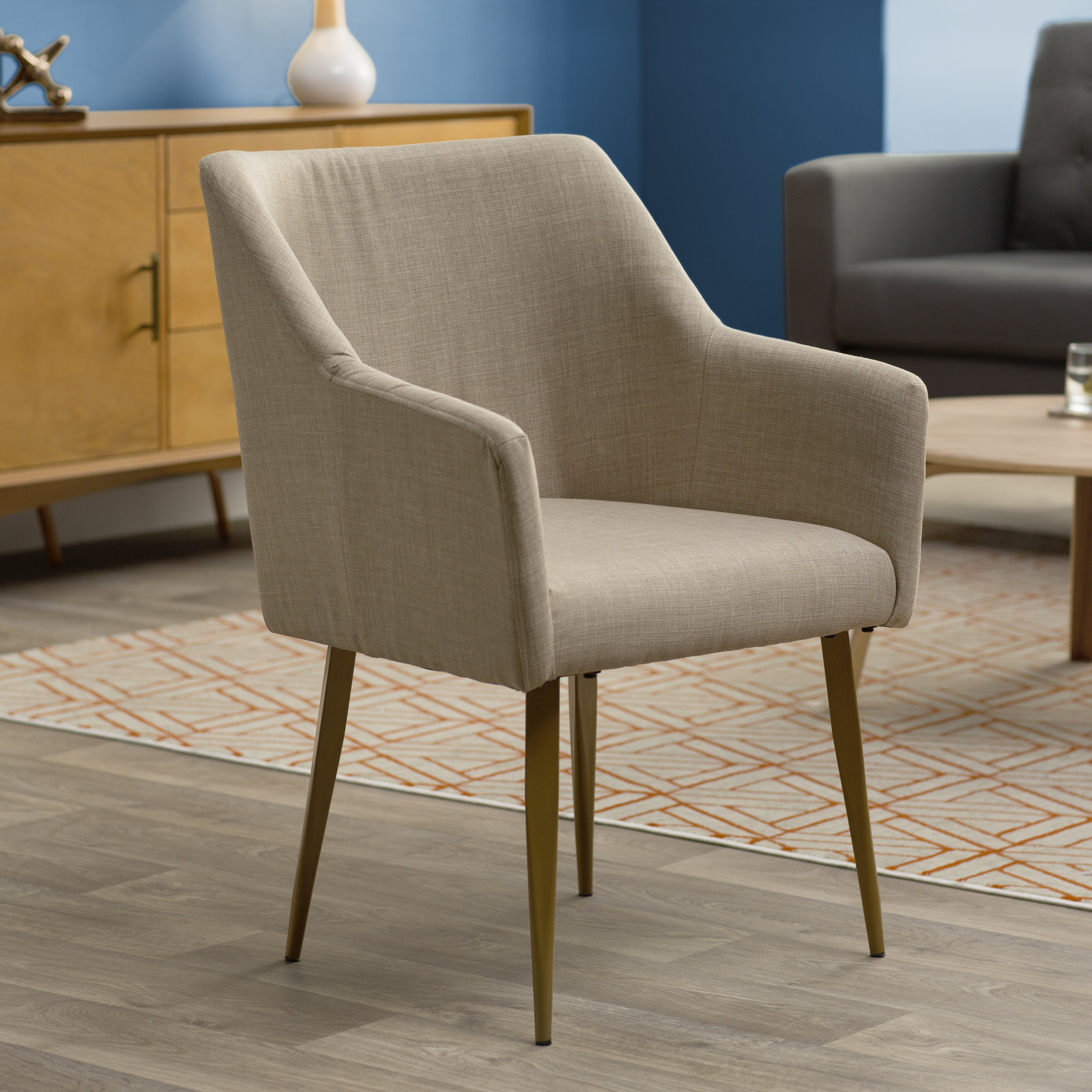 Langley street hemet arm chair reviews wayfair for Outdoor furniture langley
