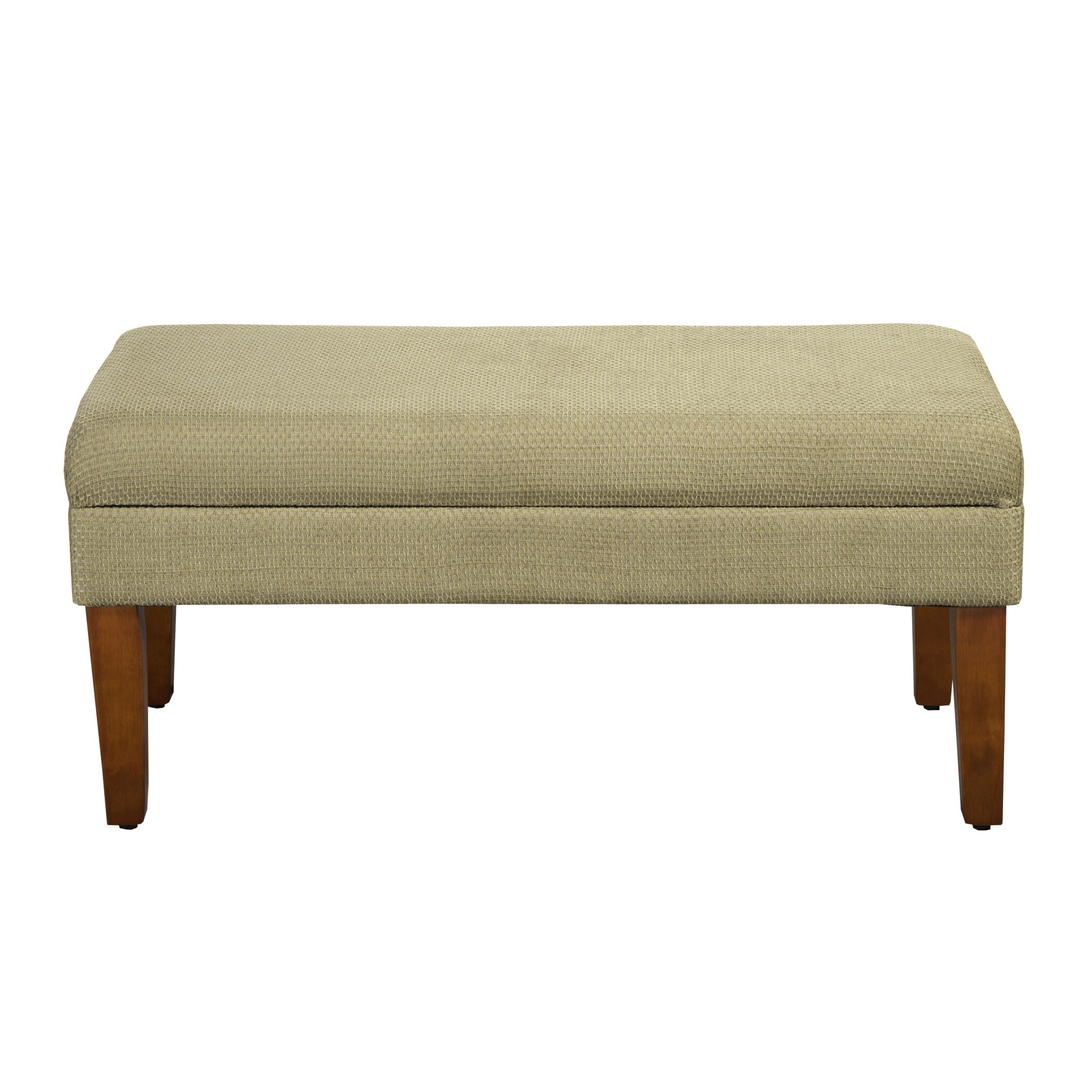 Homepop kinfine decorative upholstered bench reviews wayfair Decorative benches