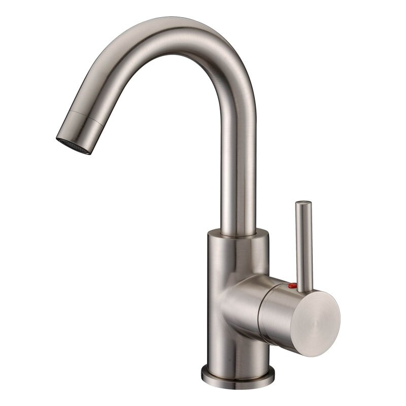 Single Lever Bathroom Faucets: Cadell Single Handle Single Hole Bathroom Faucet & Reviews