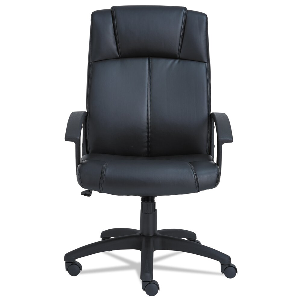 Alera Cl Series Leather Executive Chair Wayfair Supply