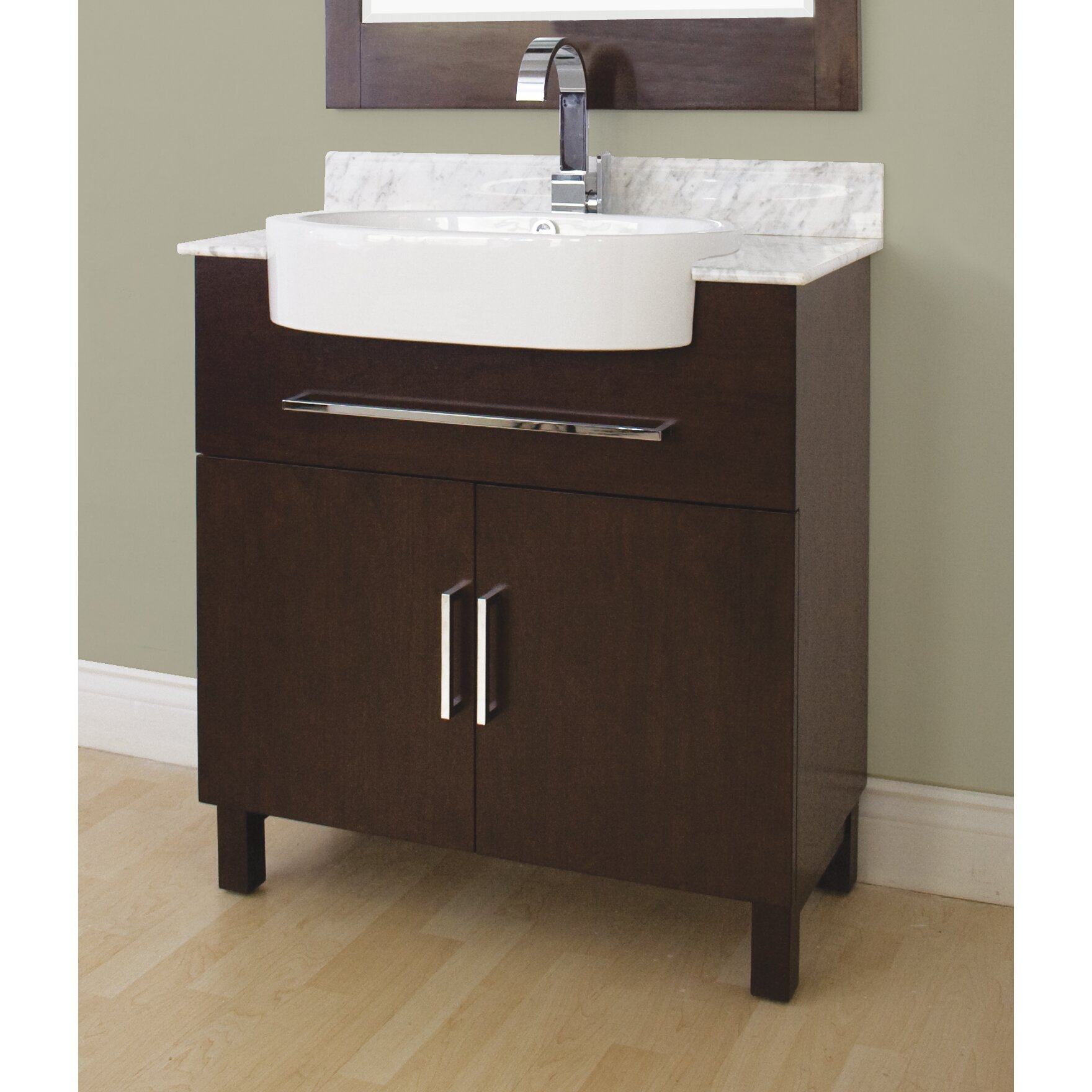 American imaginations 33 single transitional bathroom vanity set reviews Transitional bathroom vanities