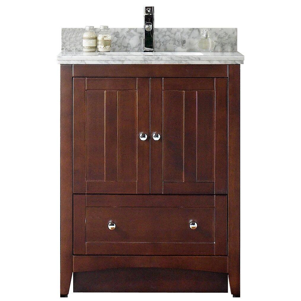 american imaginations shaker 29 5 quot bathroom vanity wayfair