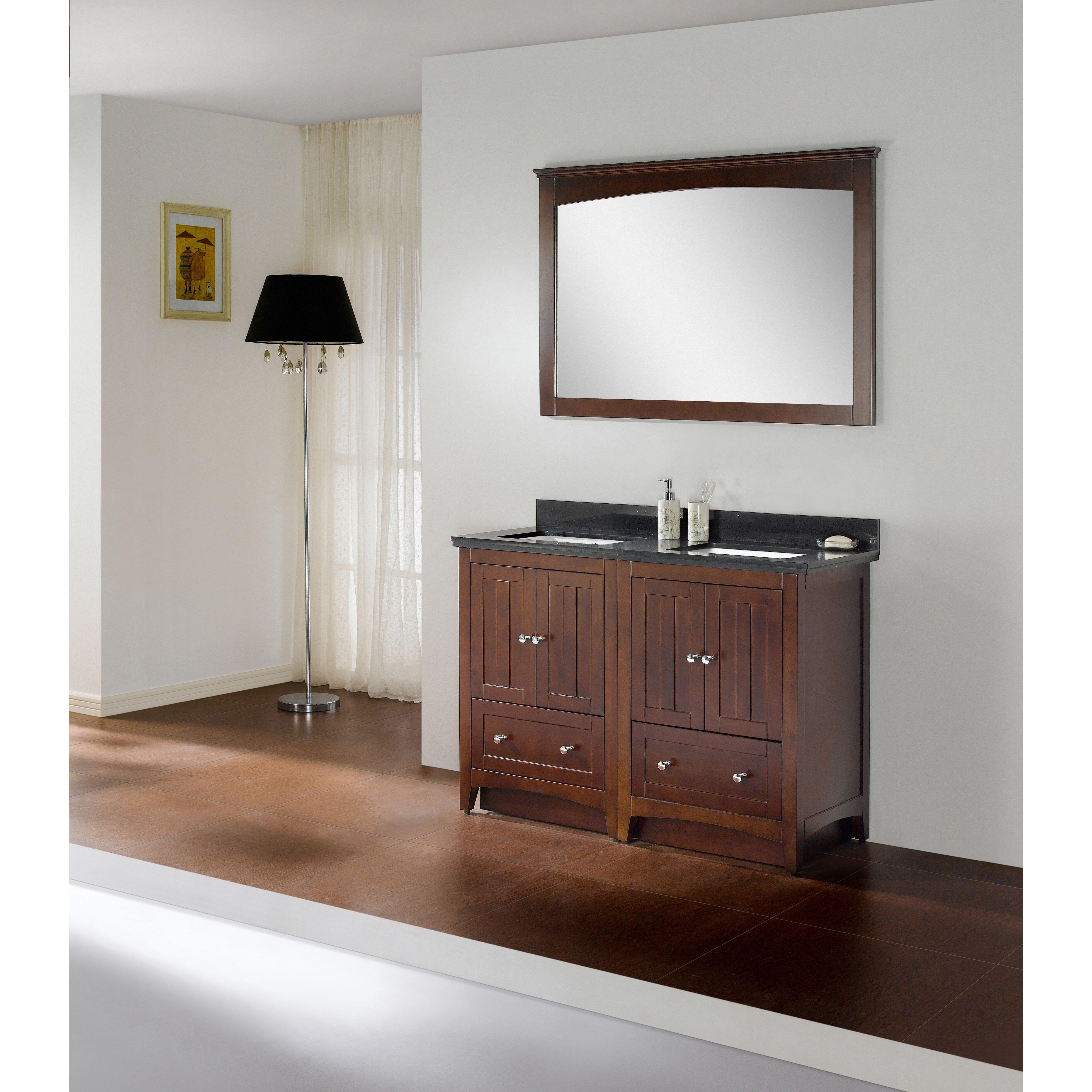 Dark walnut bathroom cabinet denver decors deebonk for Bathroom cabinets denver