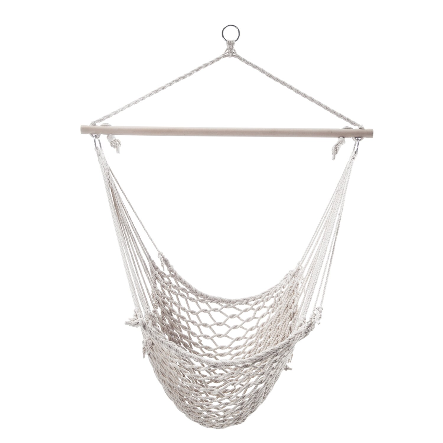 Trading Woven Rope Tree Hanging Suspended Indoor Outdoor Hammock Chair