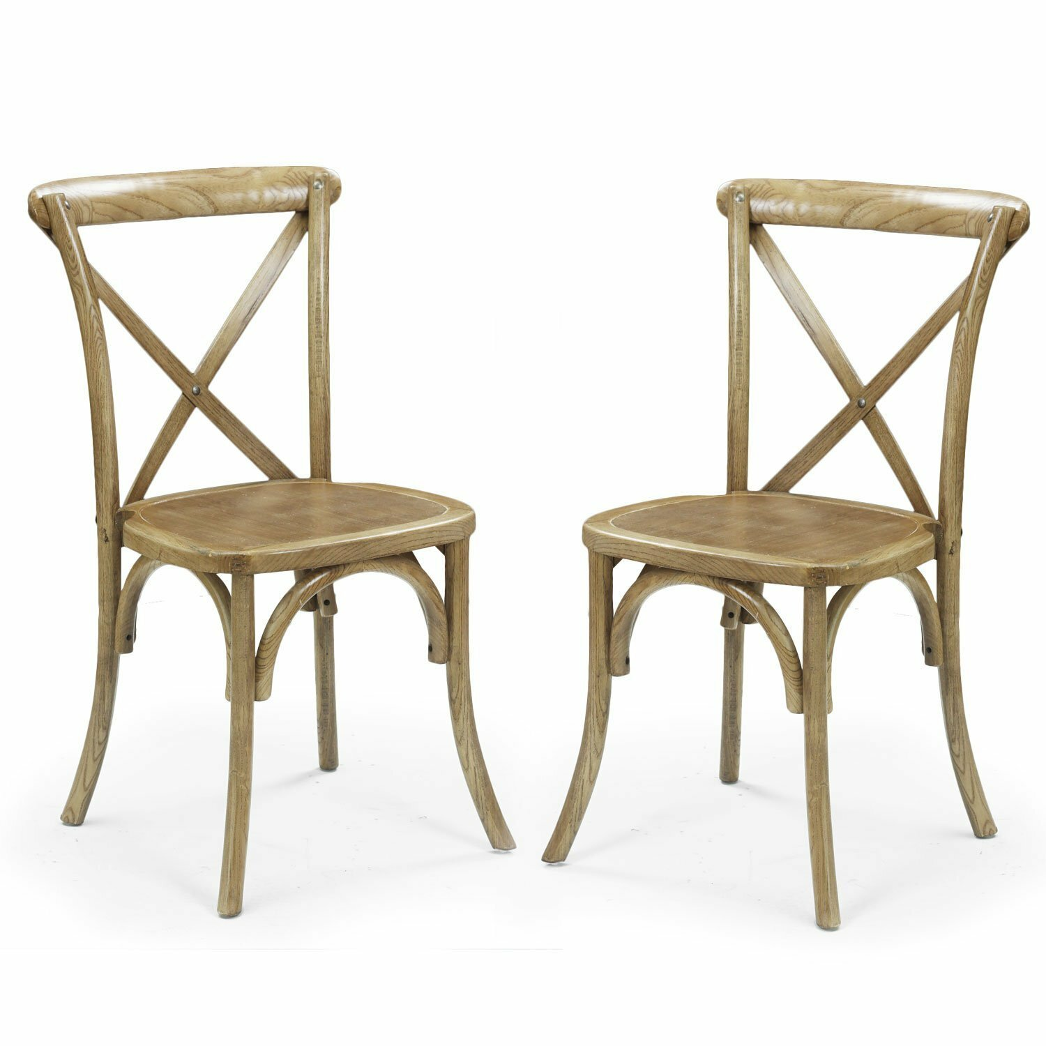 Adecotrading Stackable Dining Side Chair Reviews Wayfair