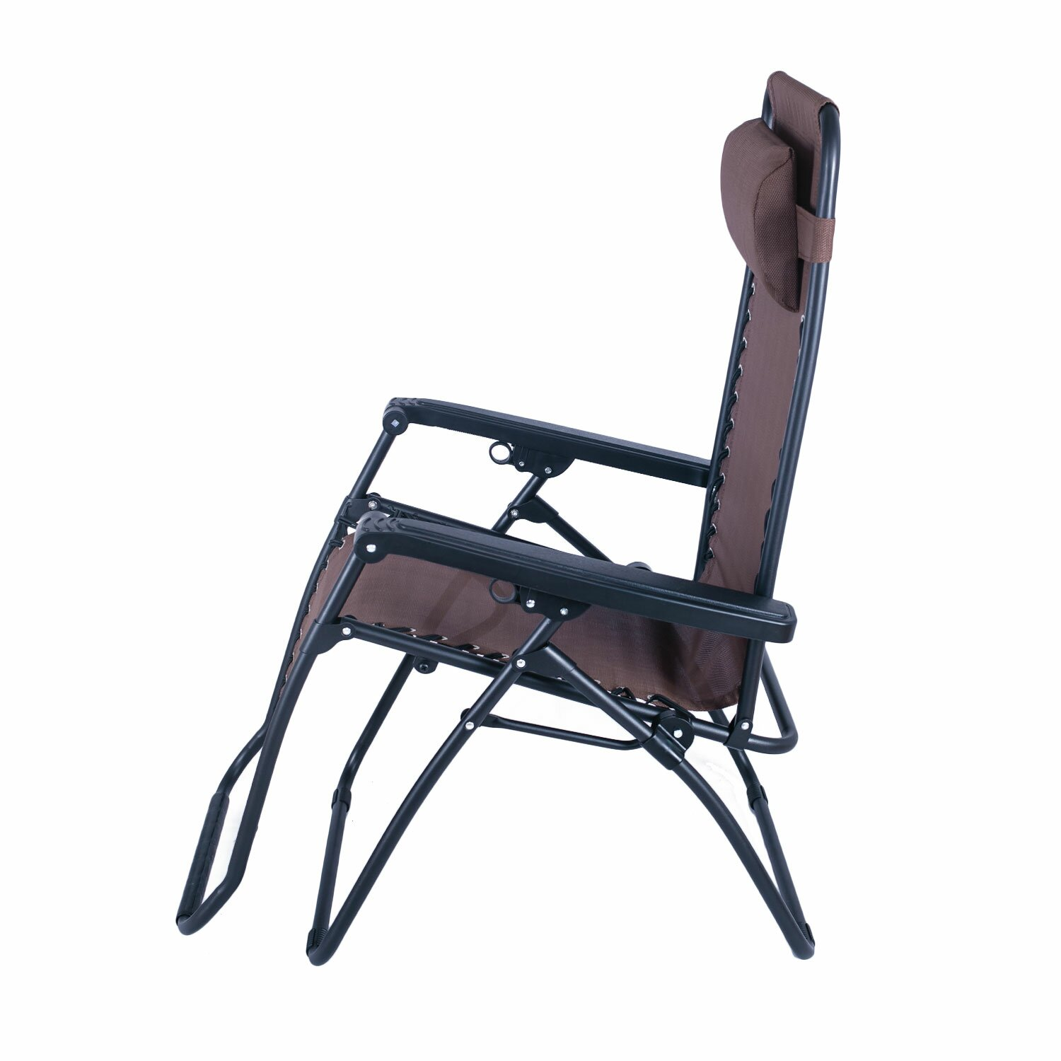 Adecotrading outdoor folding and reclining zero gravity for Chair zero gravity