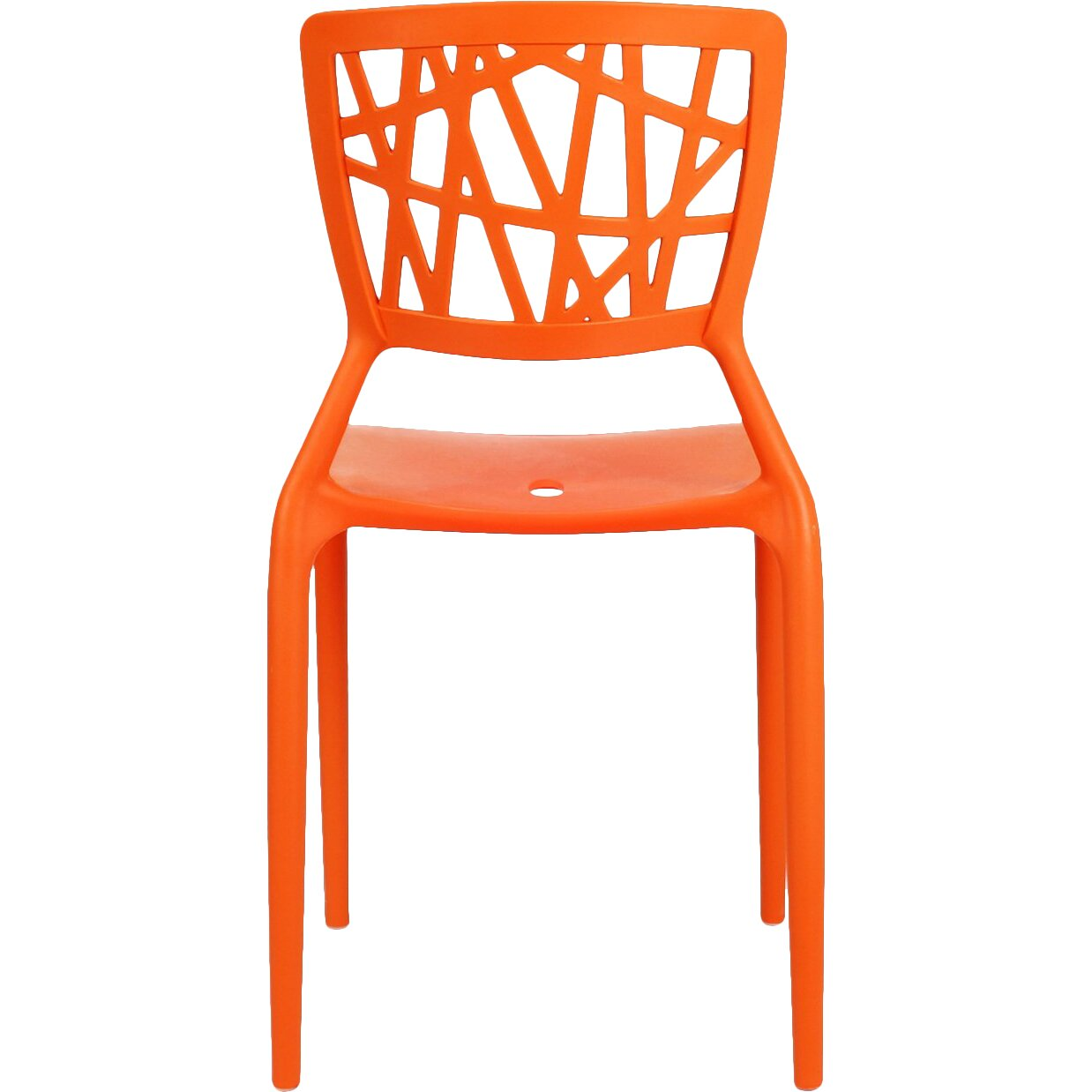 Adecotrading Stacking Dining Side Chair Amp Reviews Wayfair