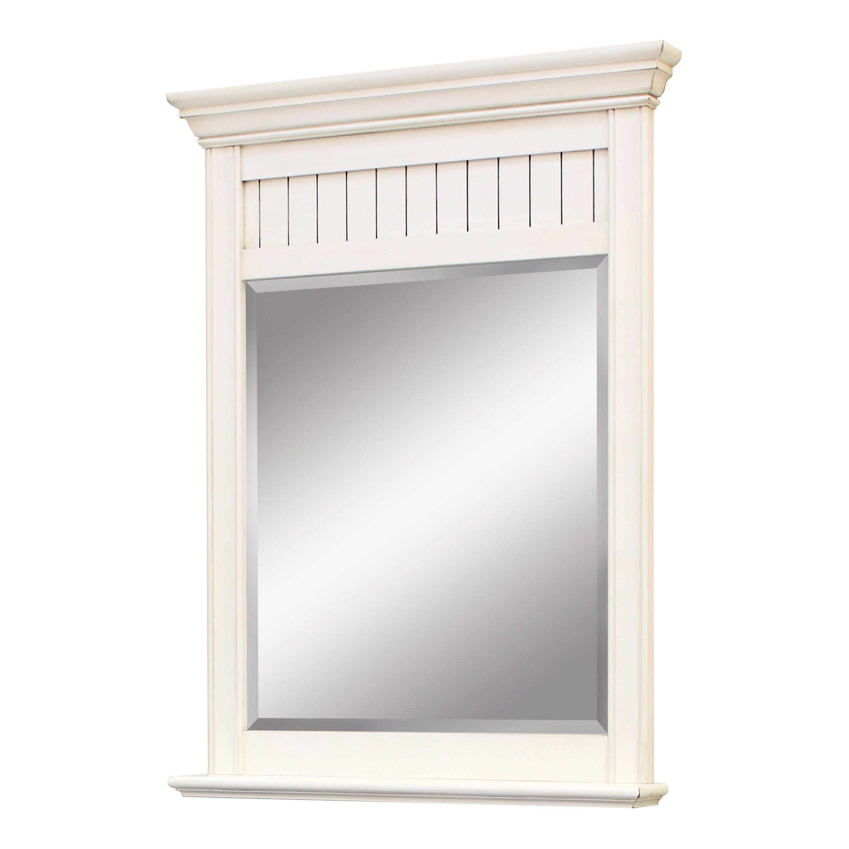 sunny wood bristol beach framed mirror reviews wayfair. Black Bedroom Furniture Sets. Home Design Ideas