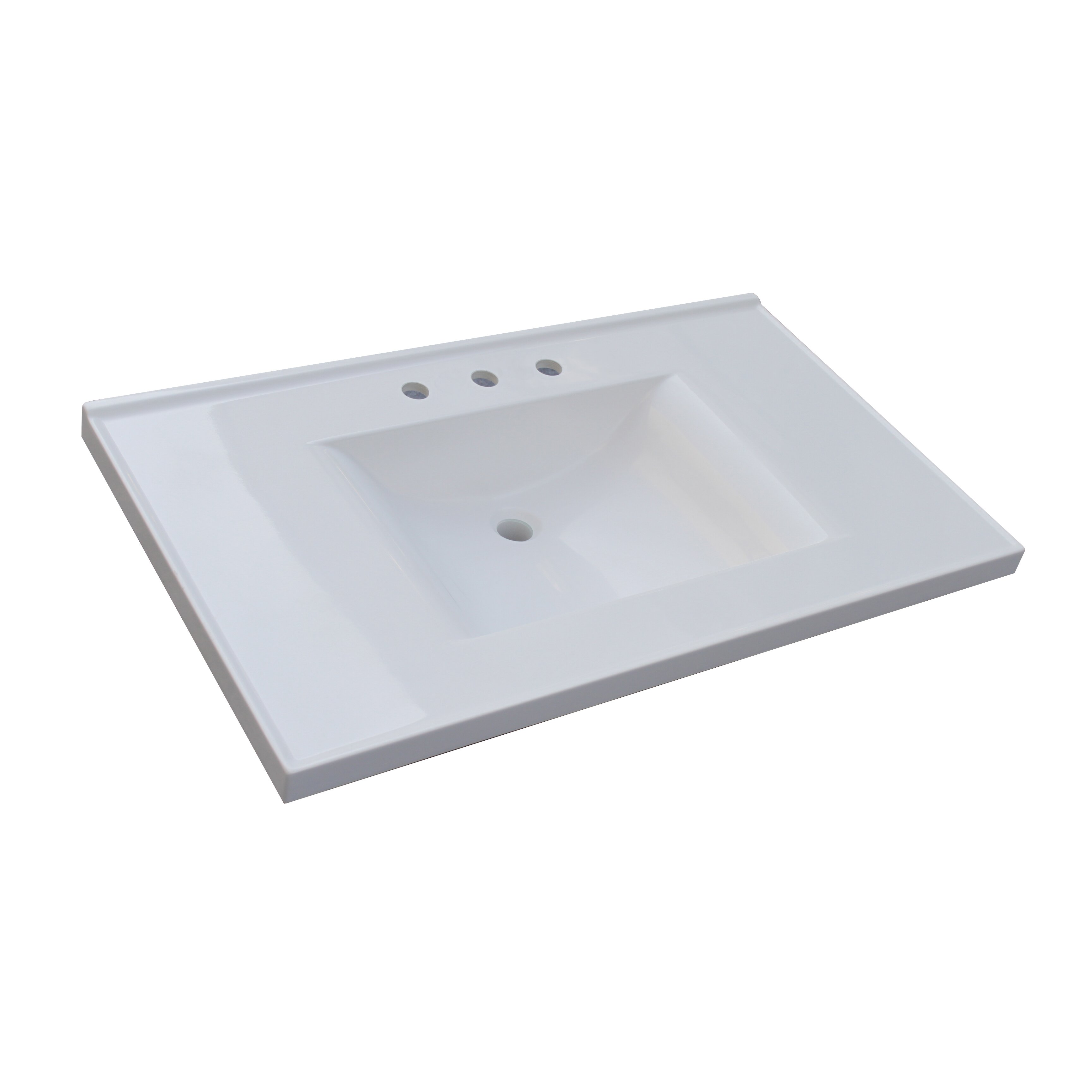 sunny wood premier tops 37 bathroom vanity top with. Black Bedroom Furniture Sets. Home Design Ideas