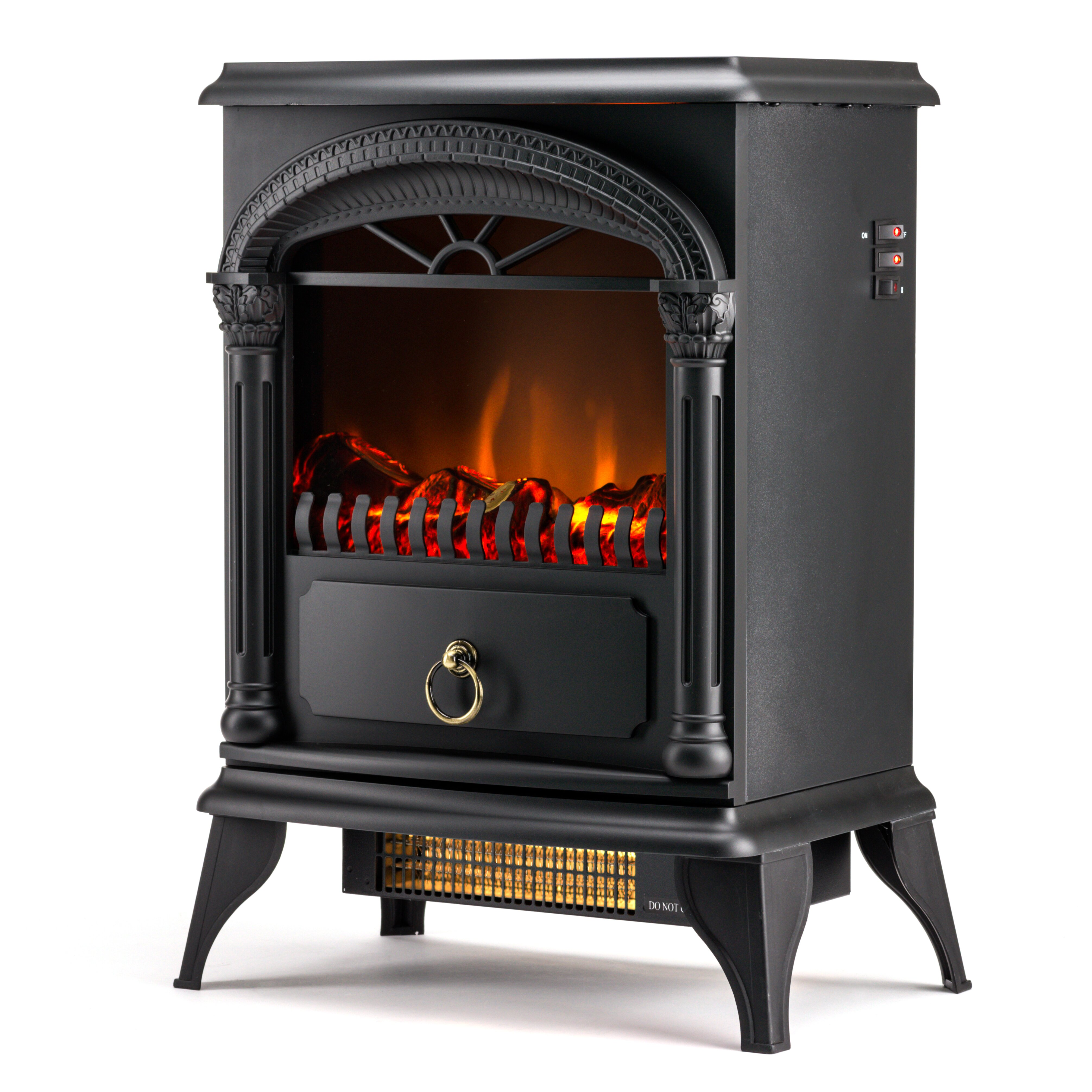 E flame hamilton 400 square foot electric stove reviews wayfair - Reviews on electric stoves ...