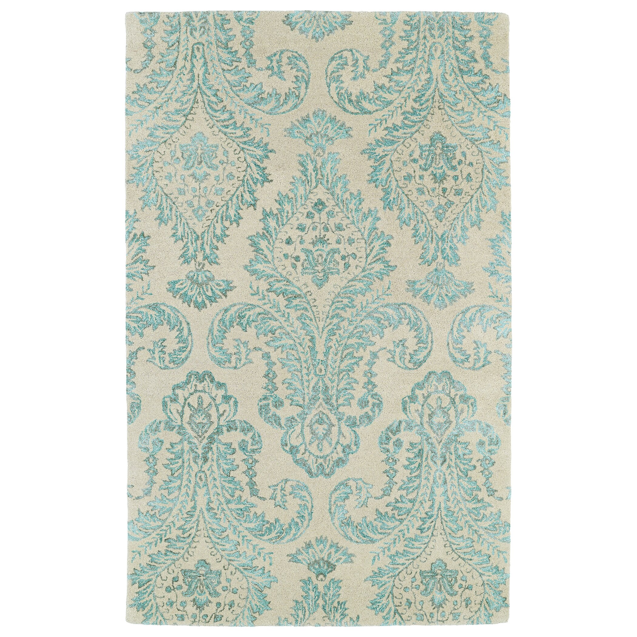 Kaleen Helena Turquoise Area Rug Reviews: Kaleen Divine Beige/Turquoise Area Rug & Reviews