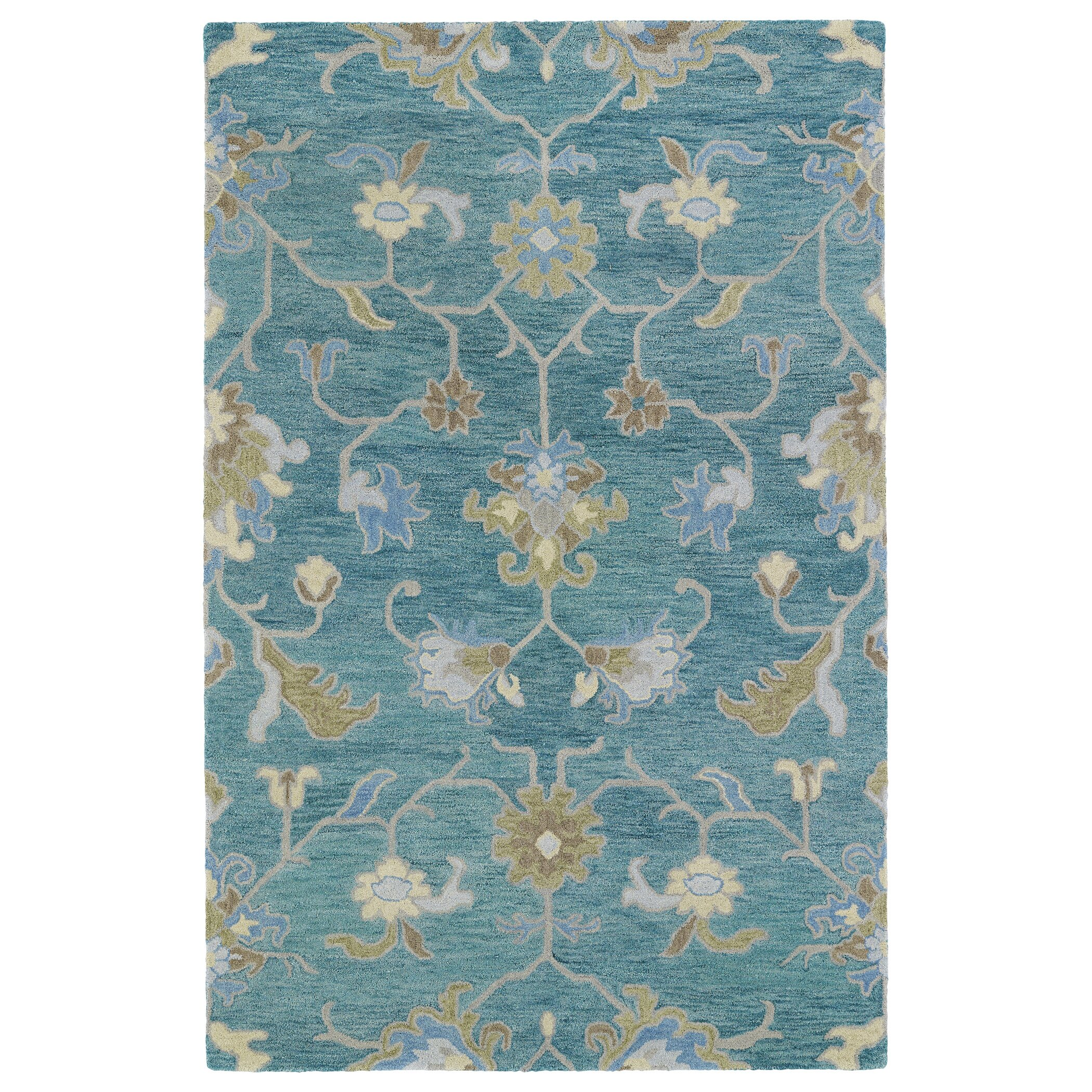 Kaleen Helena Turquoise Area Rug Reviews