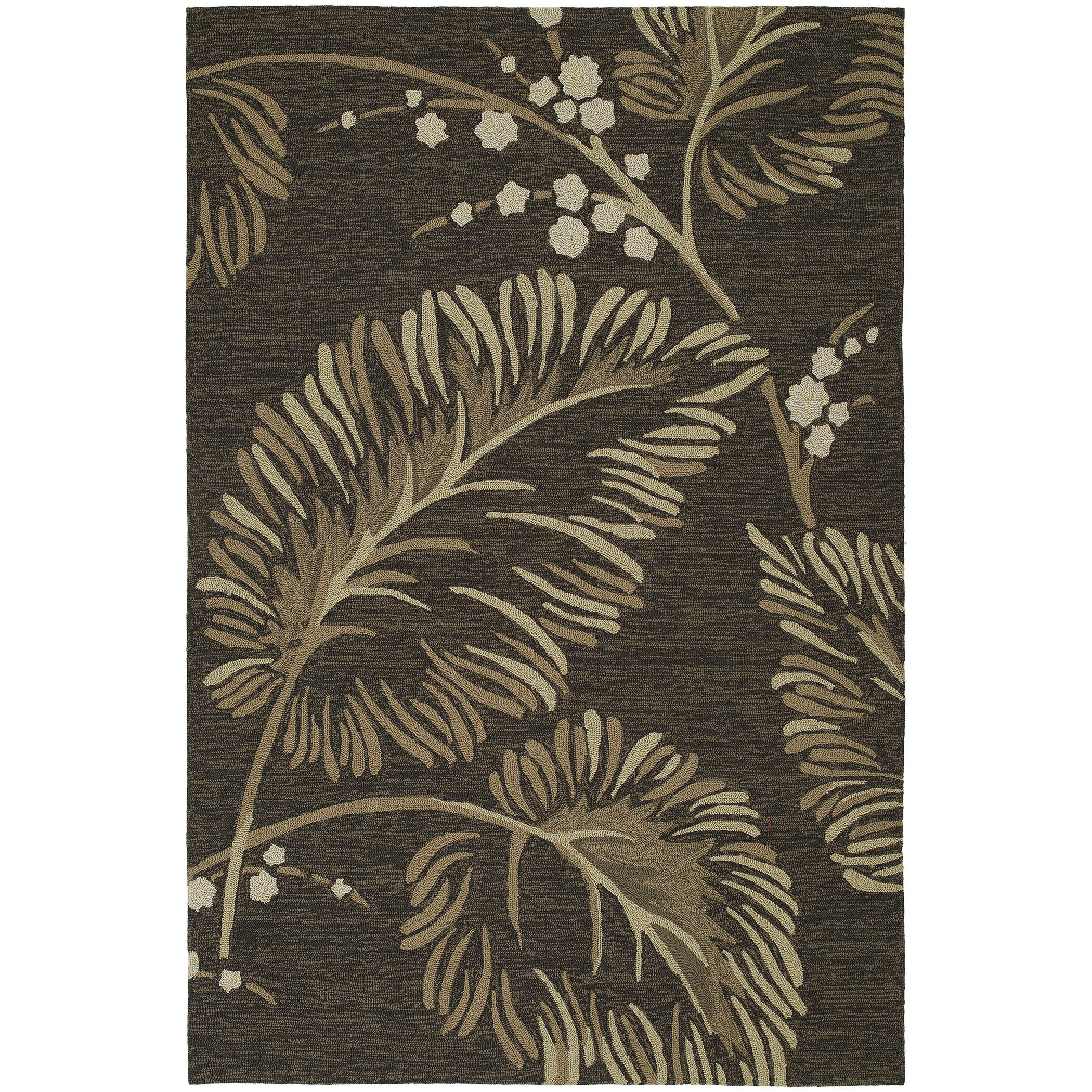 Kaleen Home and Porch Floral Indoor Outdoor Area Rug I