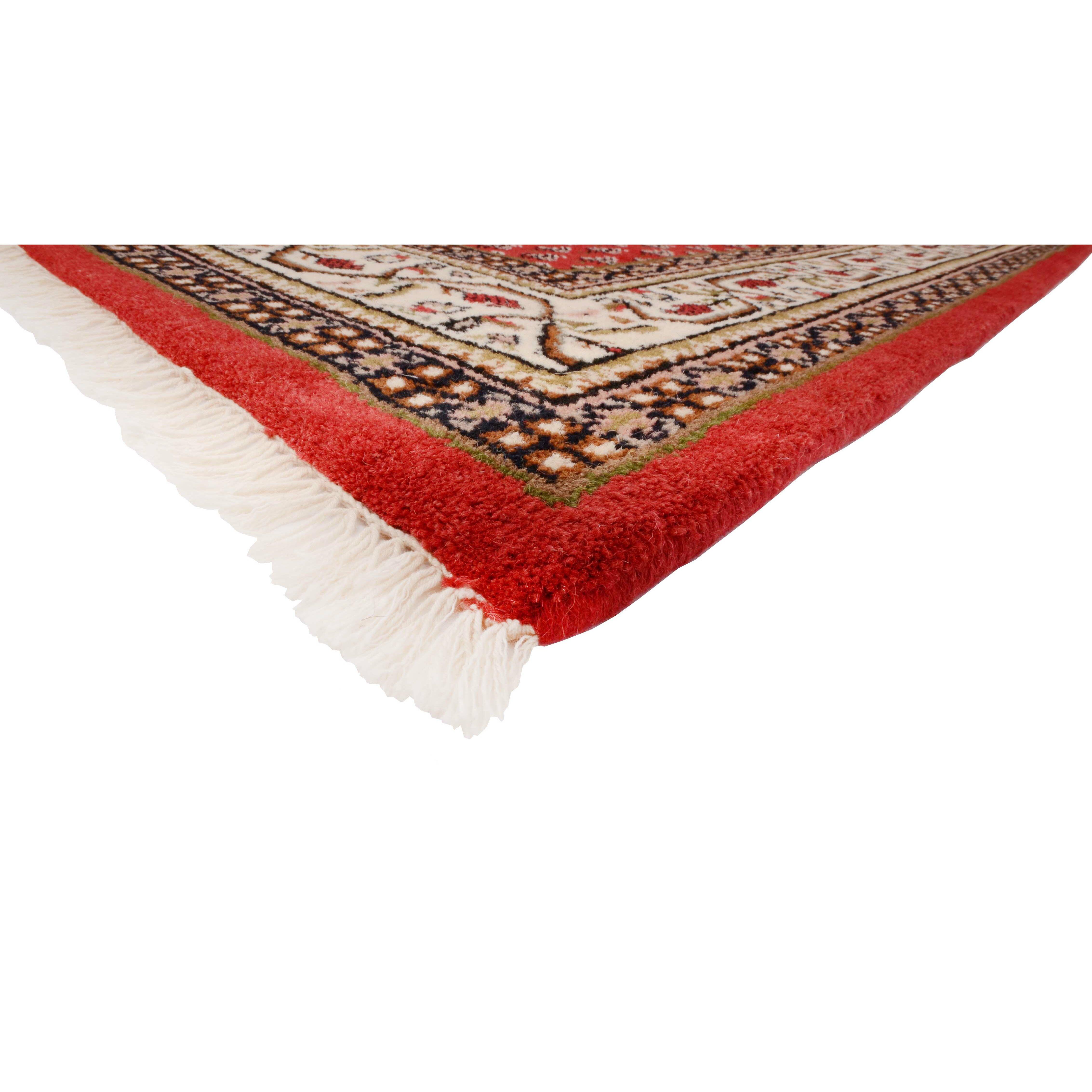 parwis handgekn pfter teppich indo mir ghalip in rot bewertungen. Black Bedroom Furniture Sets. Home Design Ideas