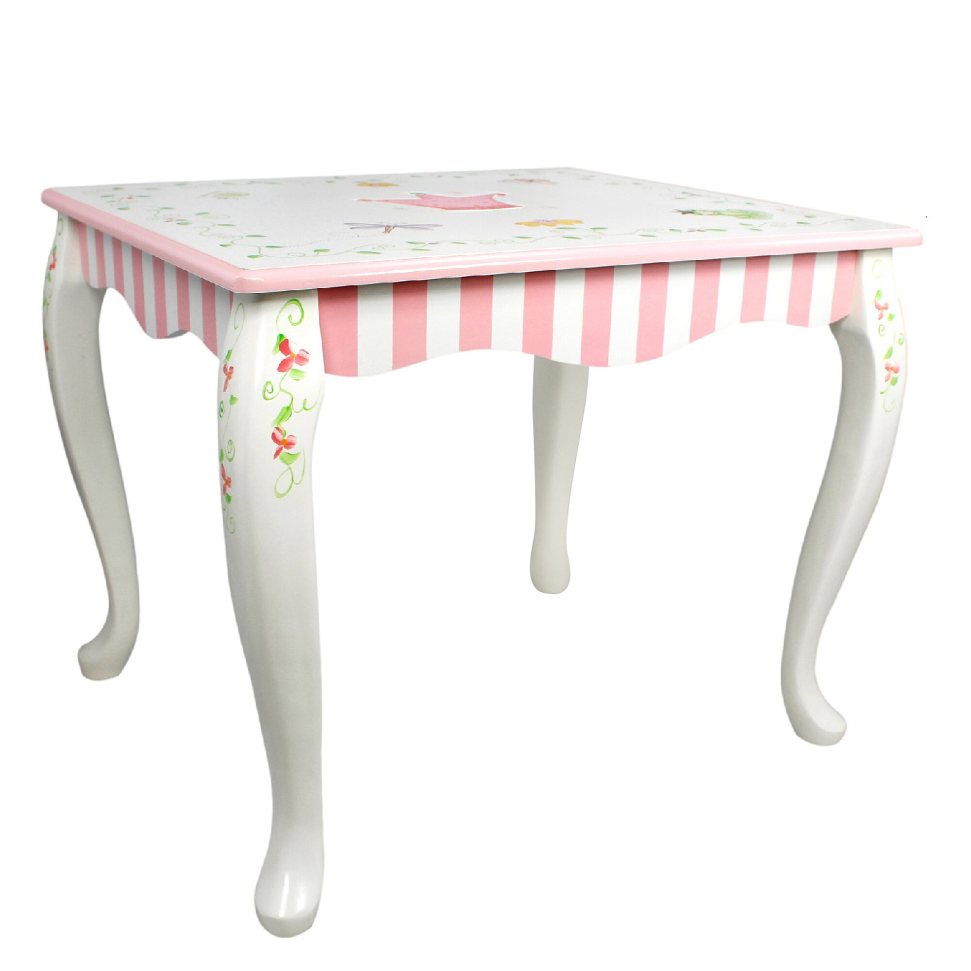 Fantasy Fields By Teamson Princess And Frog Children 39 S Coffee Table Reviews Wayfair Uk