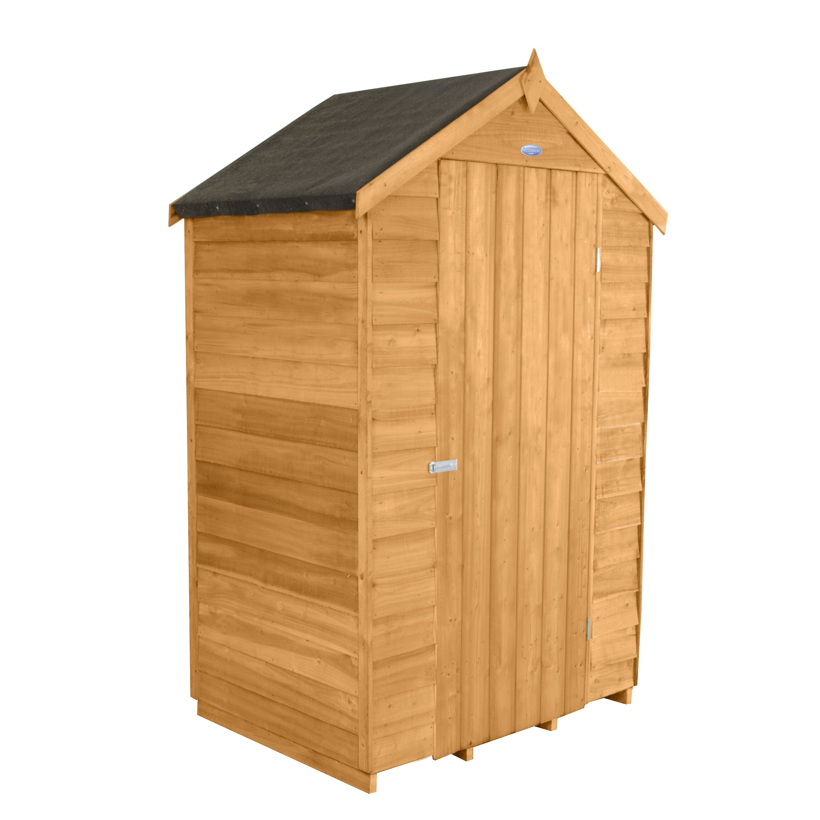 Forest garden 4 x 3 wooden storage shed wayfair uk for Wooden garden storage shed
