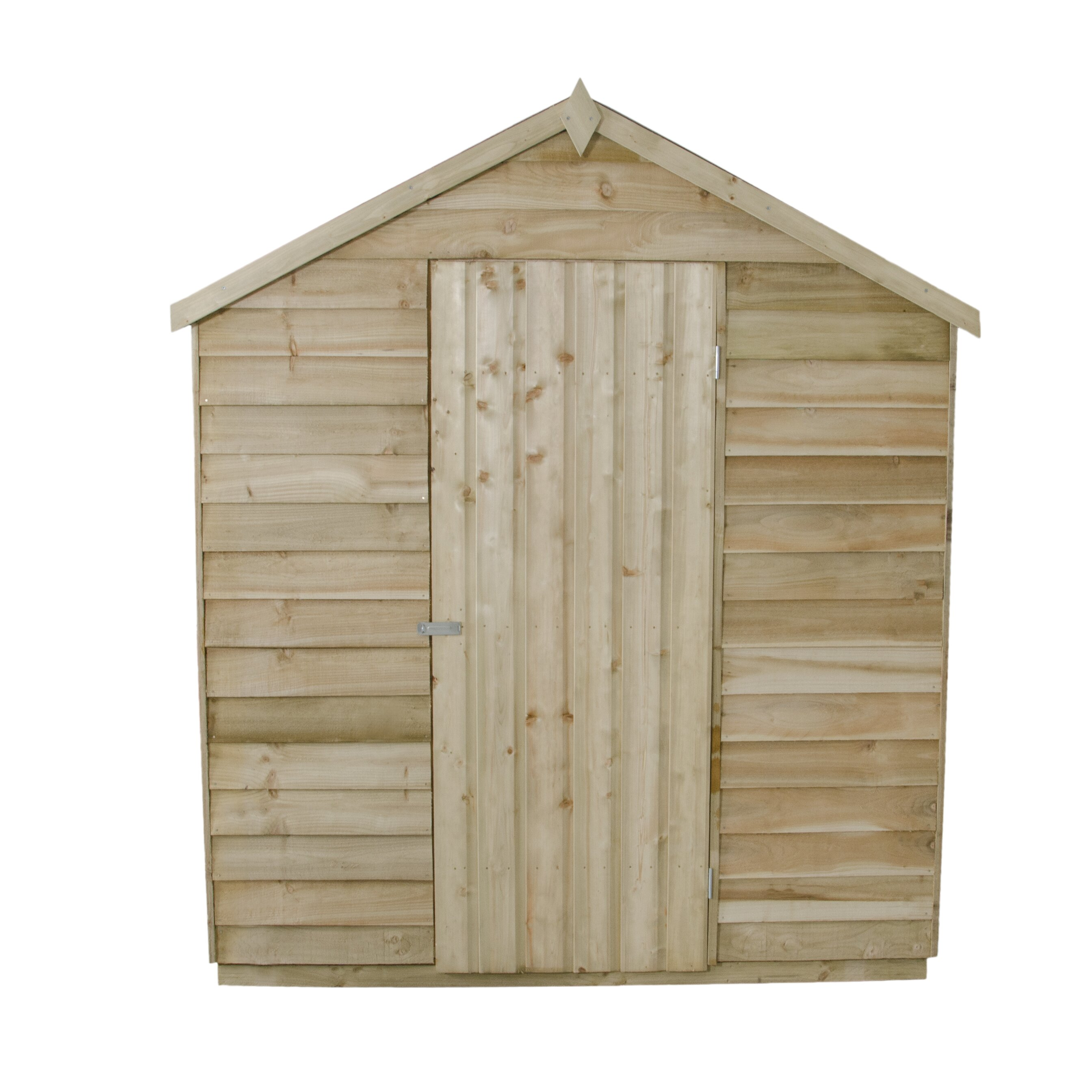 Forest garden 6 x 8 wooden storage shed wayfair uk for Garden shed 8 x 6