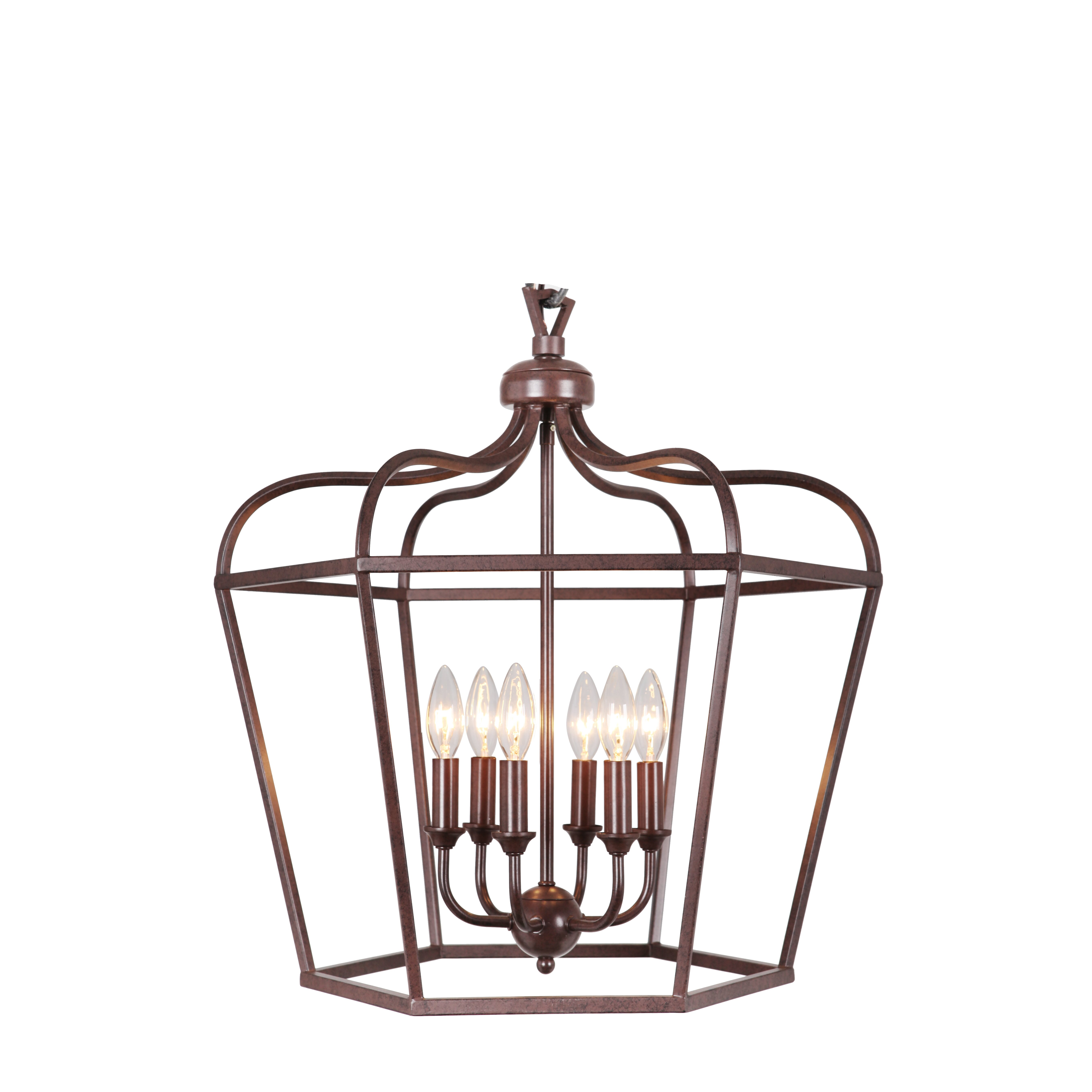 MarianaHome Cage 6 Light Pendant