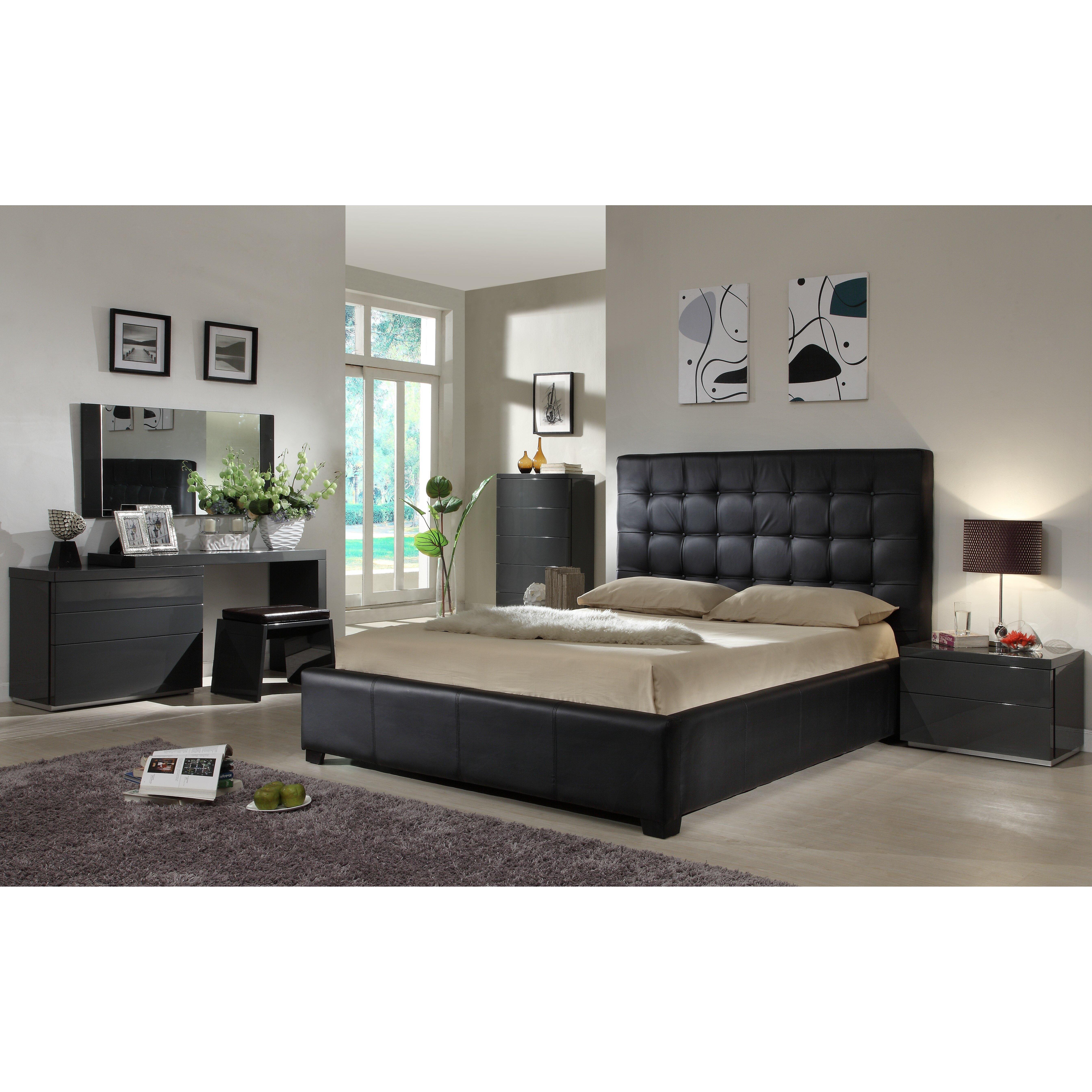 At home usa athens panel customizable bedroom set - Sofas con cajones ...