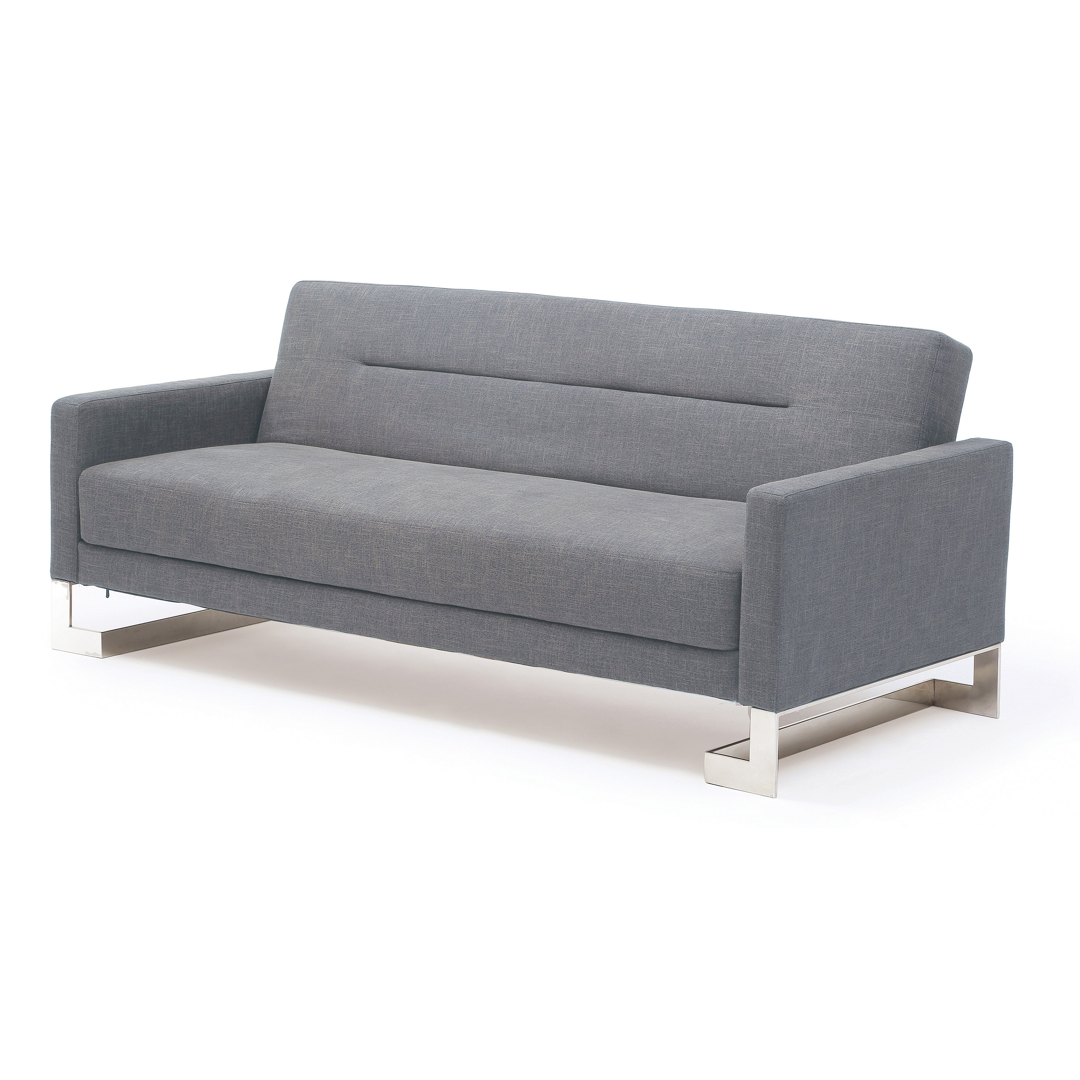 At home usa modern sleeper sofa reviews wayfair for Sectional sleeper sofa