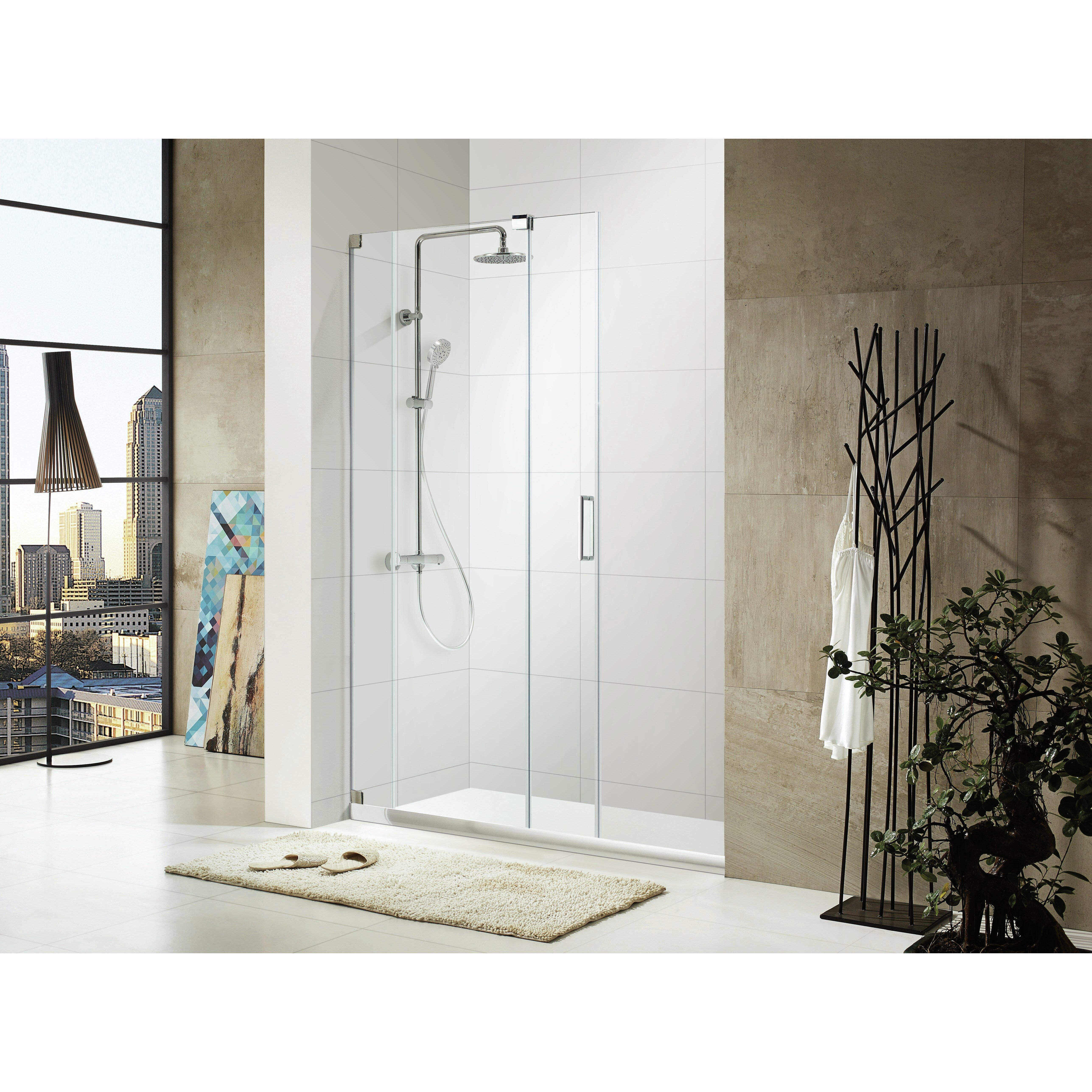 51484755195053605148 Lux 72 X 56 60 Frameless Sliding Shower Door \\u0026 Reviews #4F7A7C 60