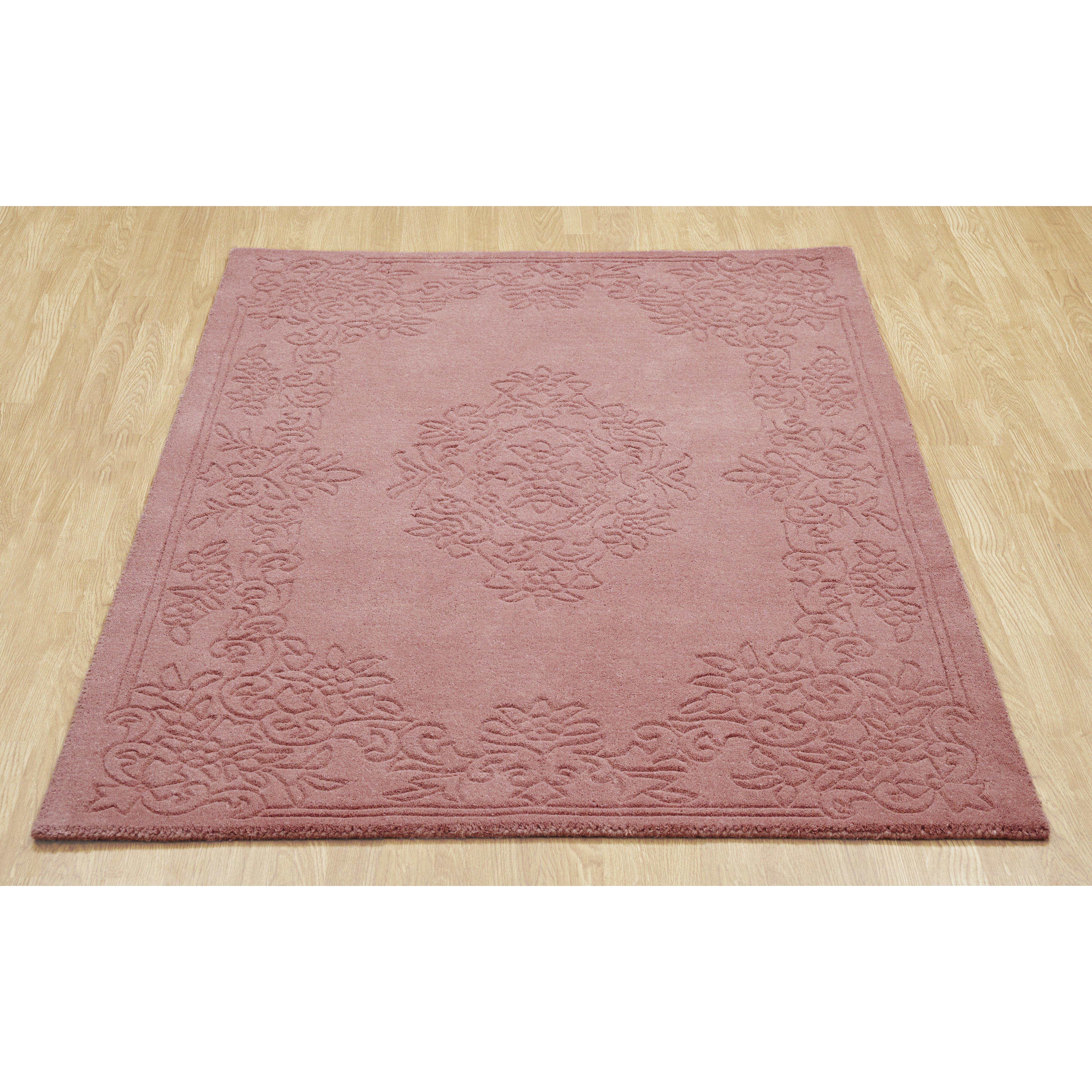 oriental weavers handgewebter teppich imperial in rosa. Black Bedroom Furniture Sets. Home Design Ideas