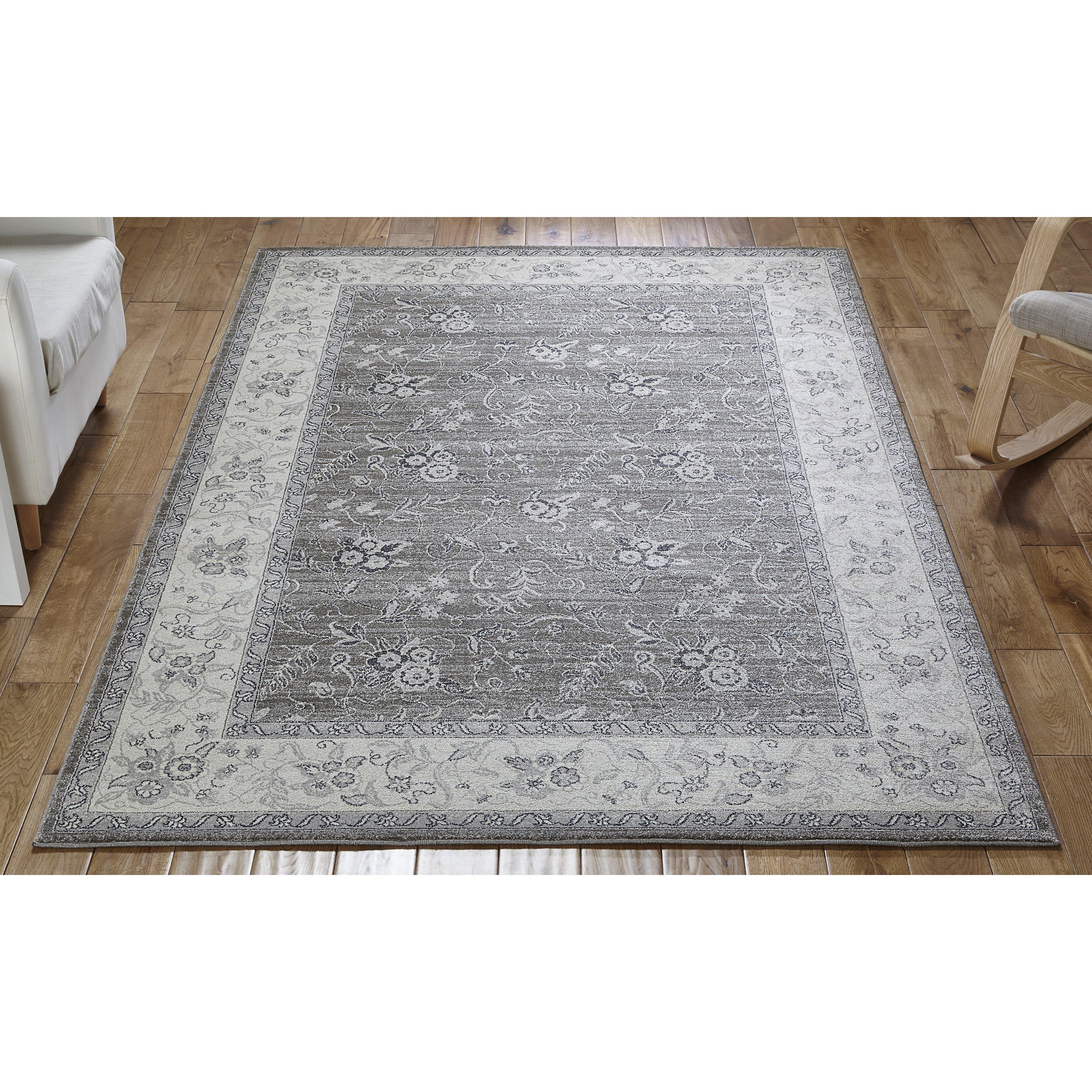 Oriental Weavers Teppich Richmond in Creme Grau von