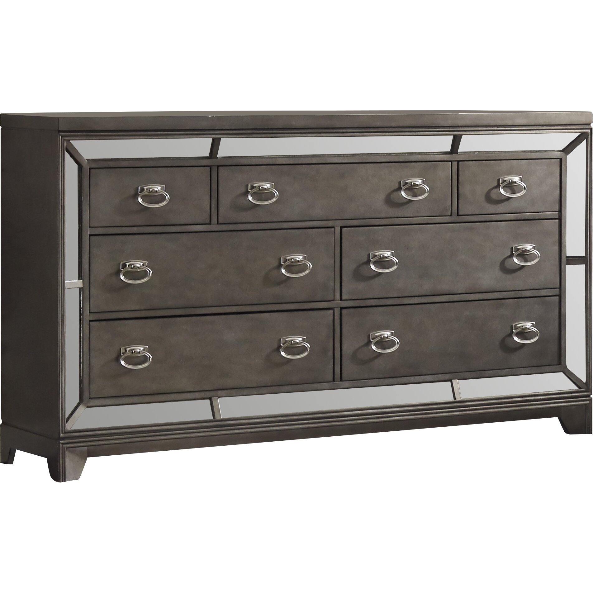 Avalon furniture lenox 7 drawer dresser reviews wayfair for Furniture 7 reviews