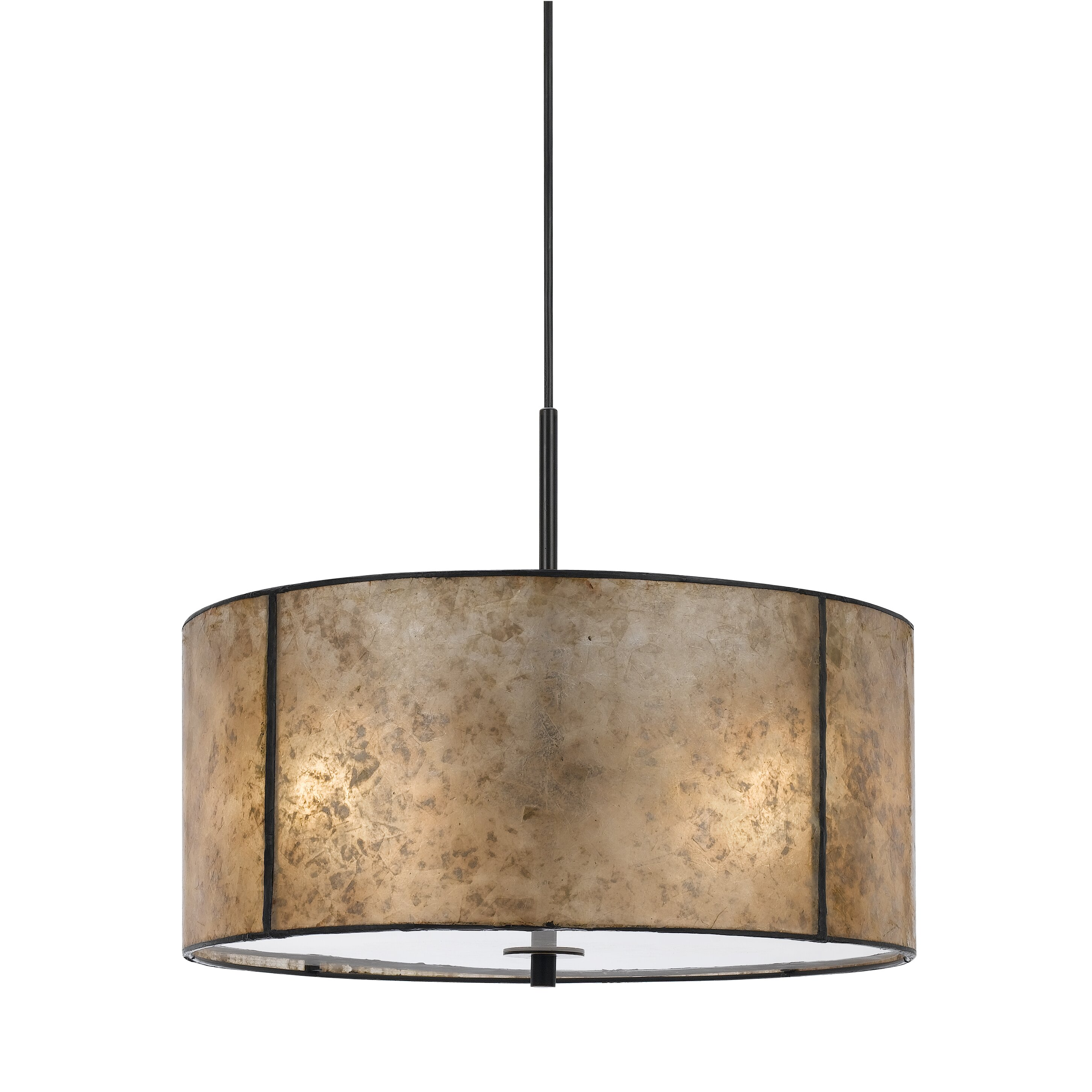 Cal Lighting Colima 2 Light Drum Pendant Amp Reviews