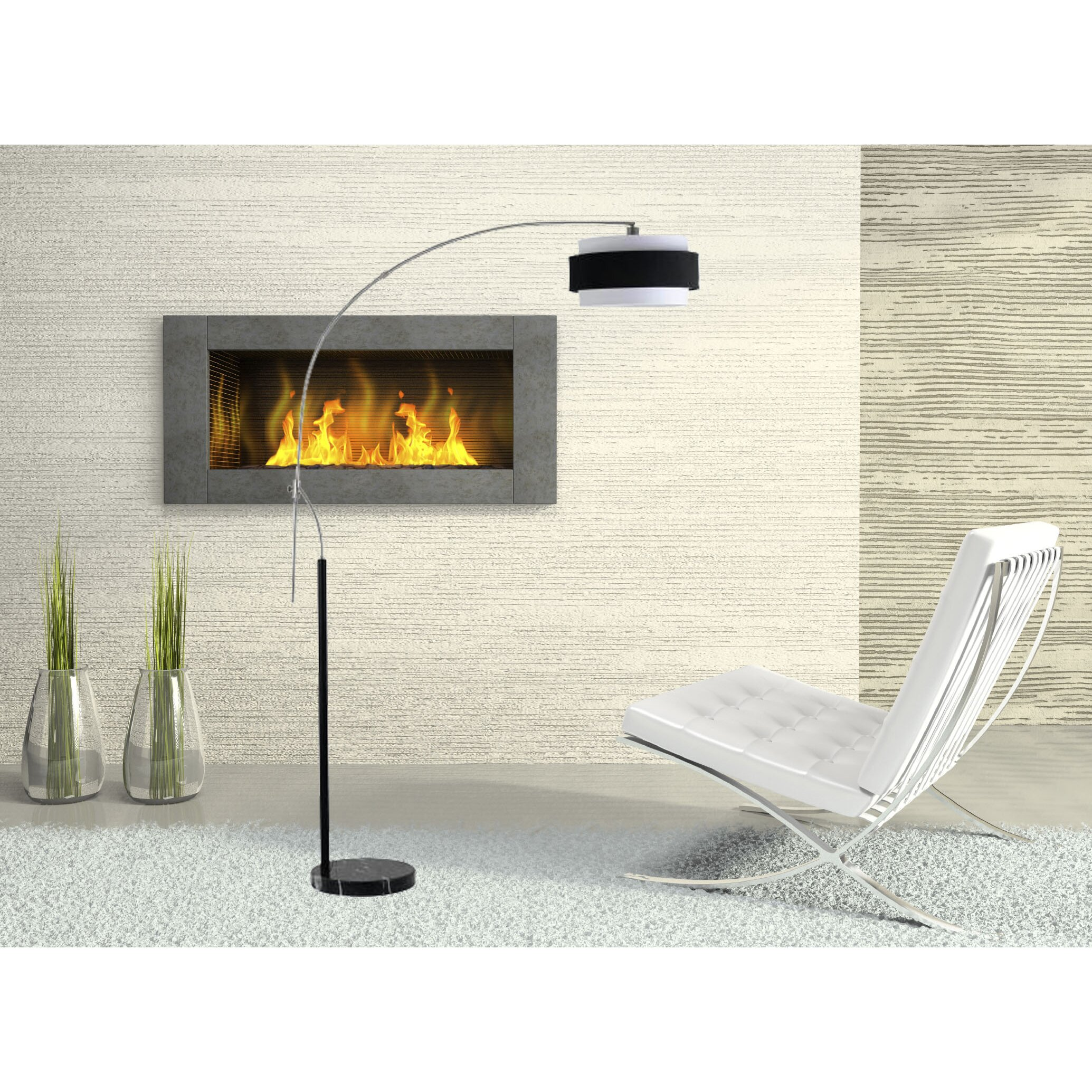 Cal Lighting Santa Monica 95 Arched Floor Lamp Reviews
