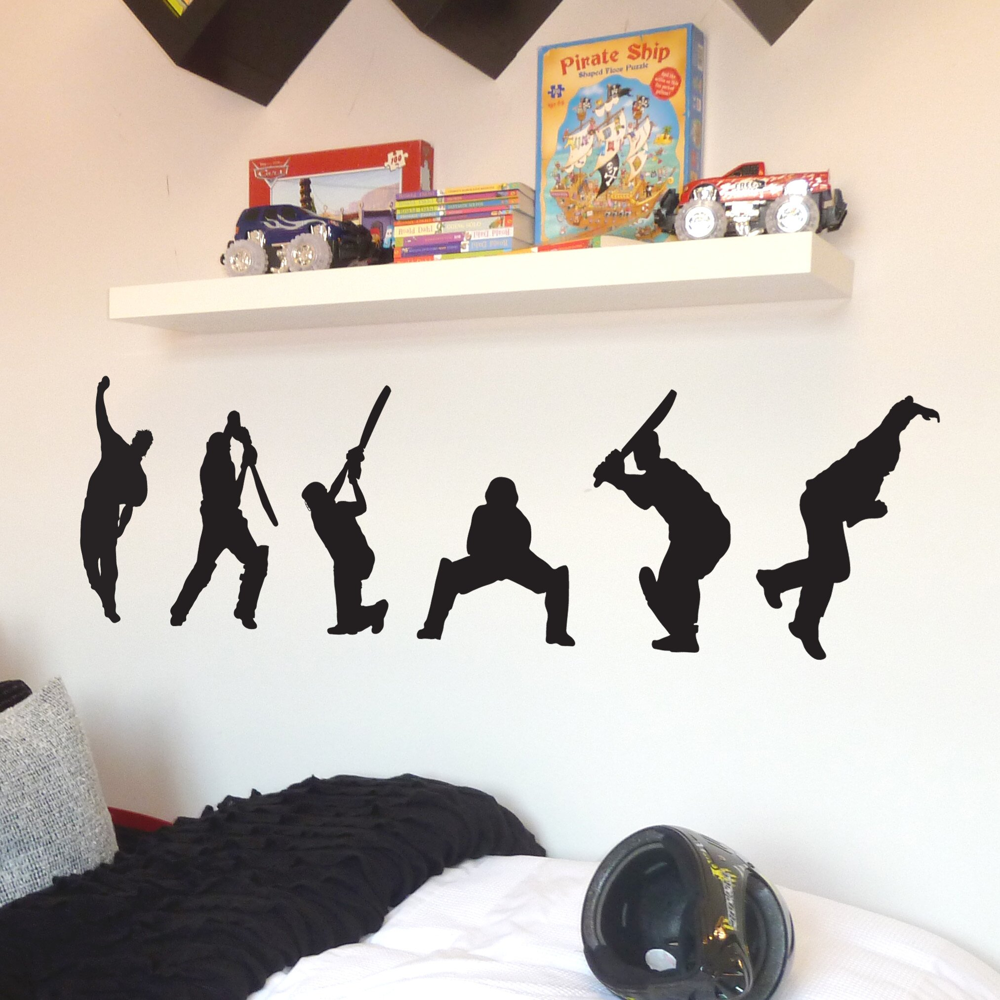 Images Of Wall Stickers Cricket Calto