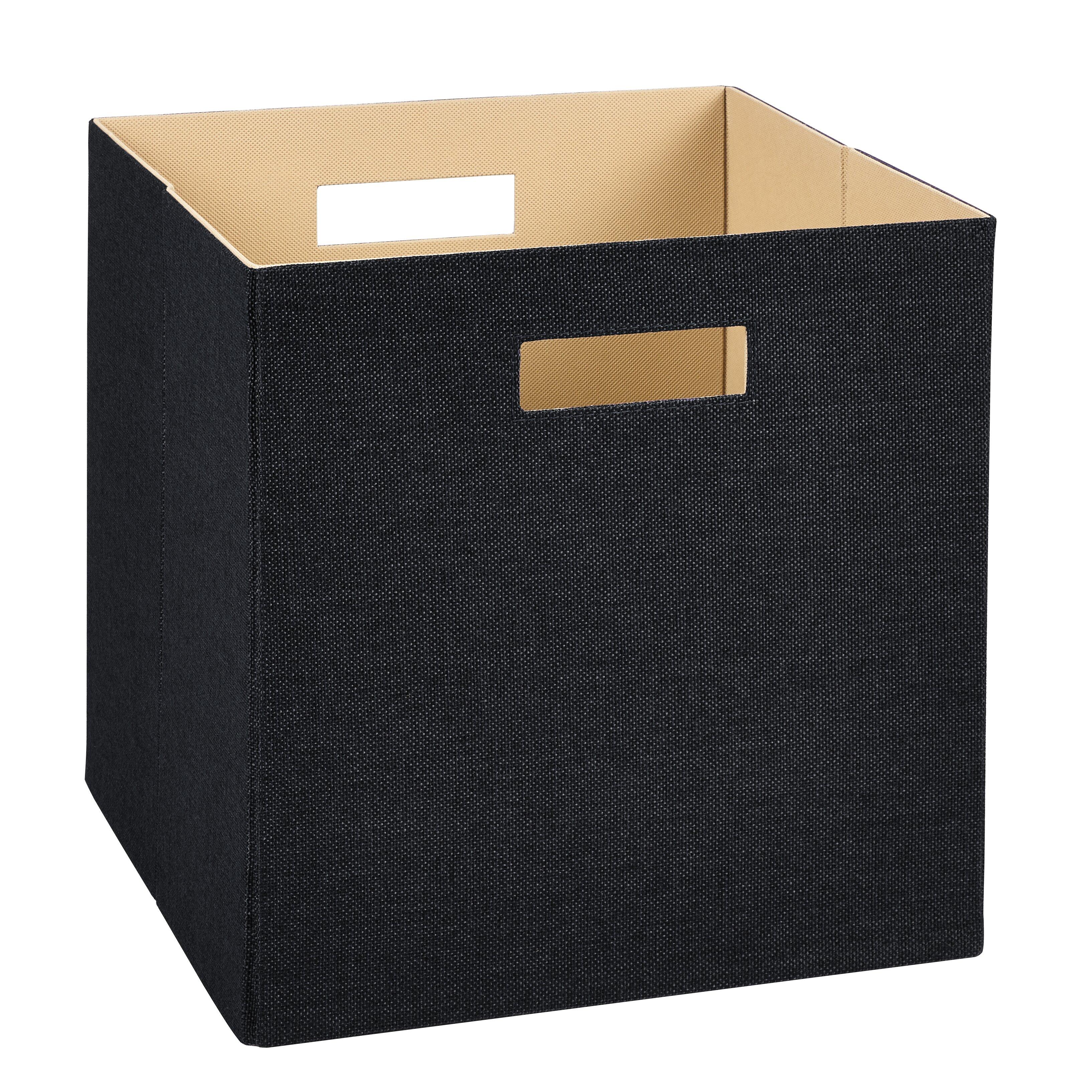 Closetmaid Decorative Storage Fabric Bins Amp Reviews Wayfair