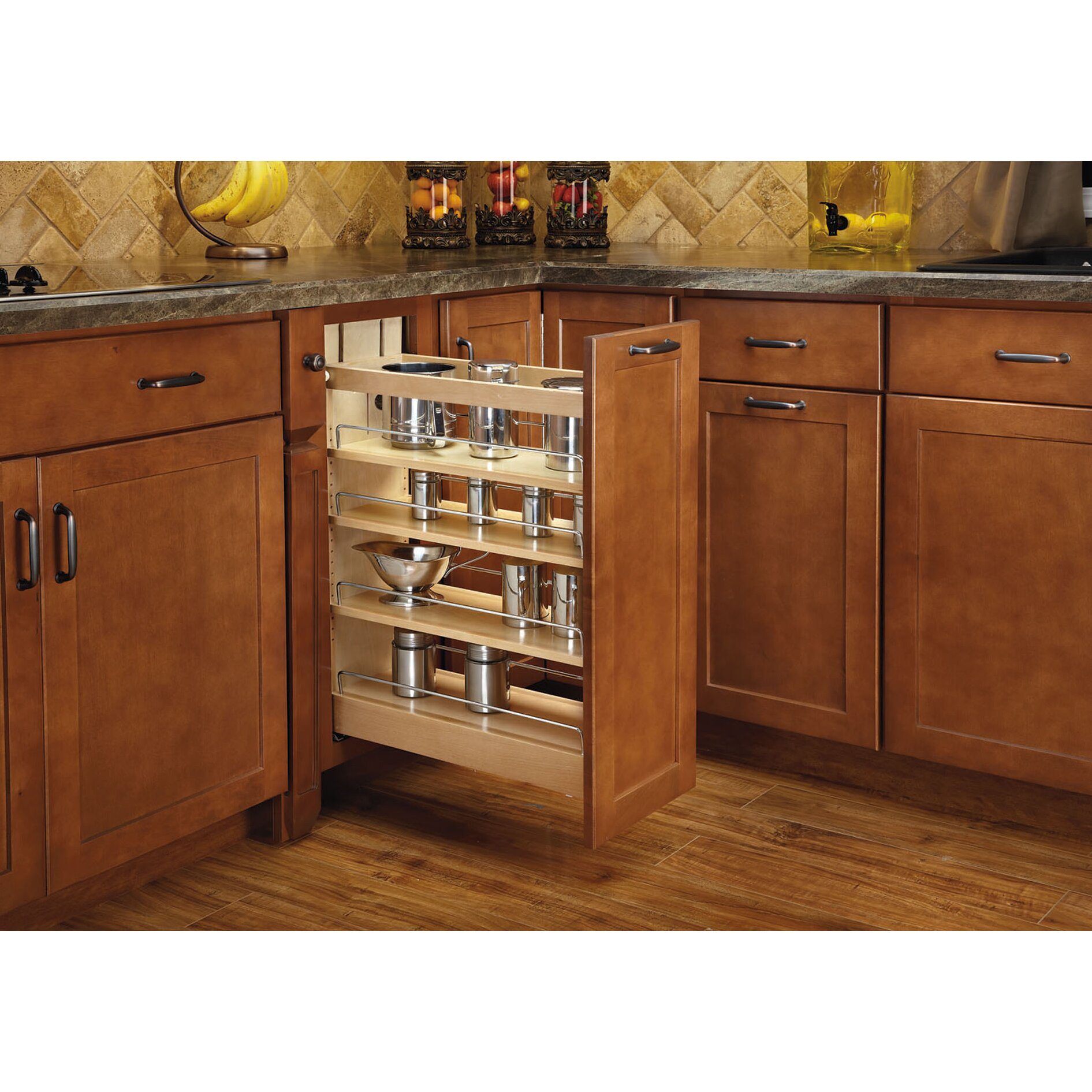 Slide Out Closet Shelves: Rev-A-Shelf Pull-Out Wood Base Cabinet Organizer & Reviews