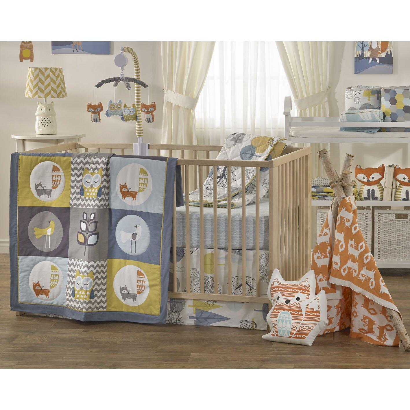 Lolli Living Woods  Piece Crib Bedding Set