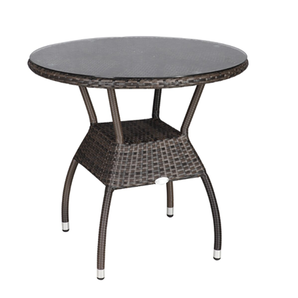 Rattan outdoor furniture brighton dining table reviews for Wayfair furniture dining tables