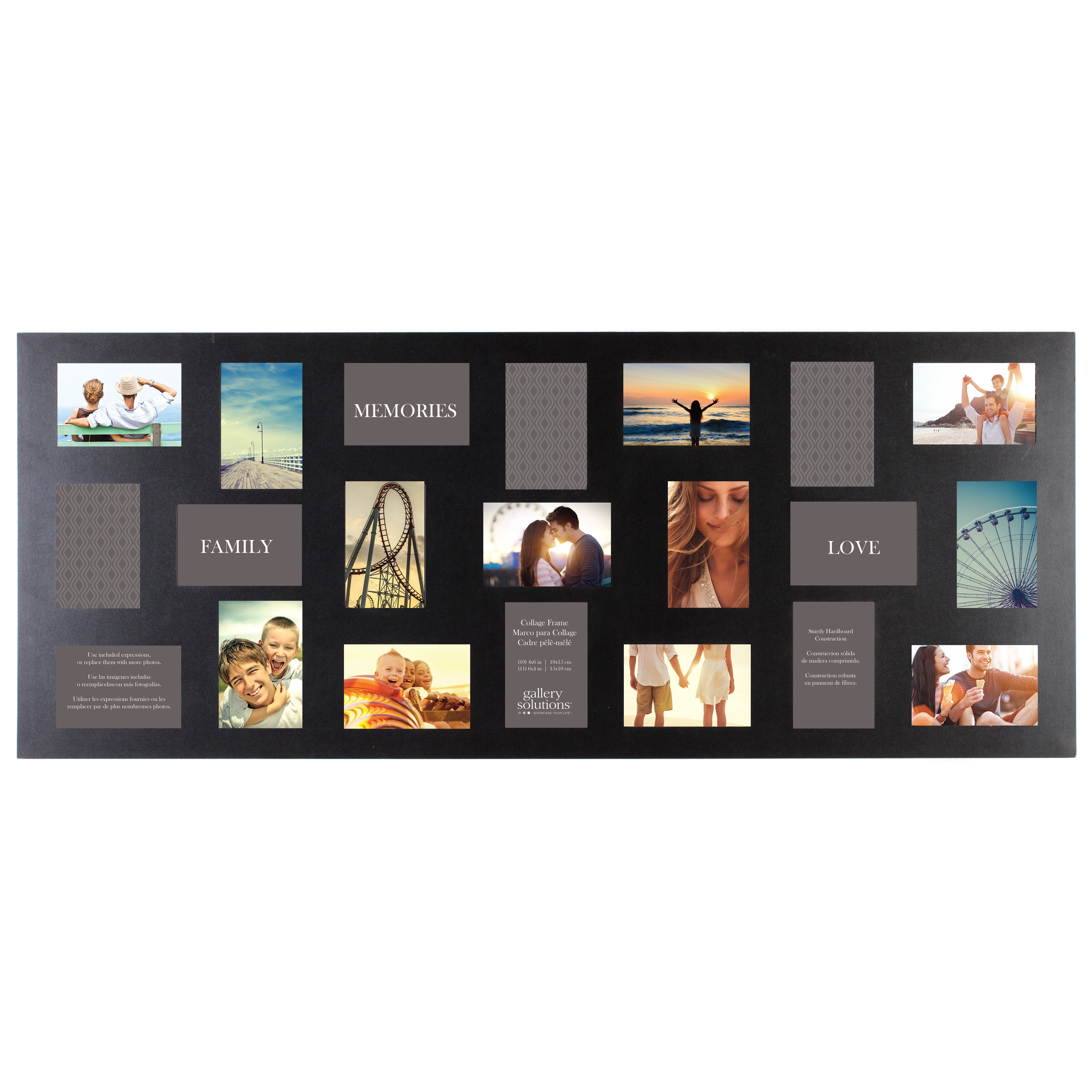 NielsenBainbridge Gallery Solutions 21 Opening Collage Picture Frame Re