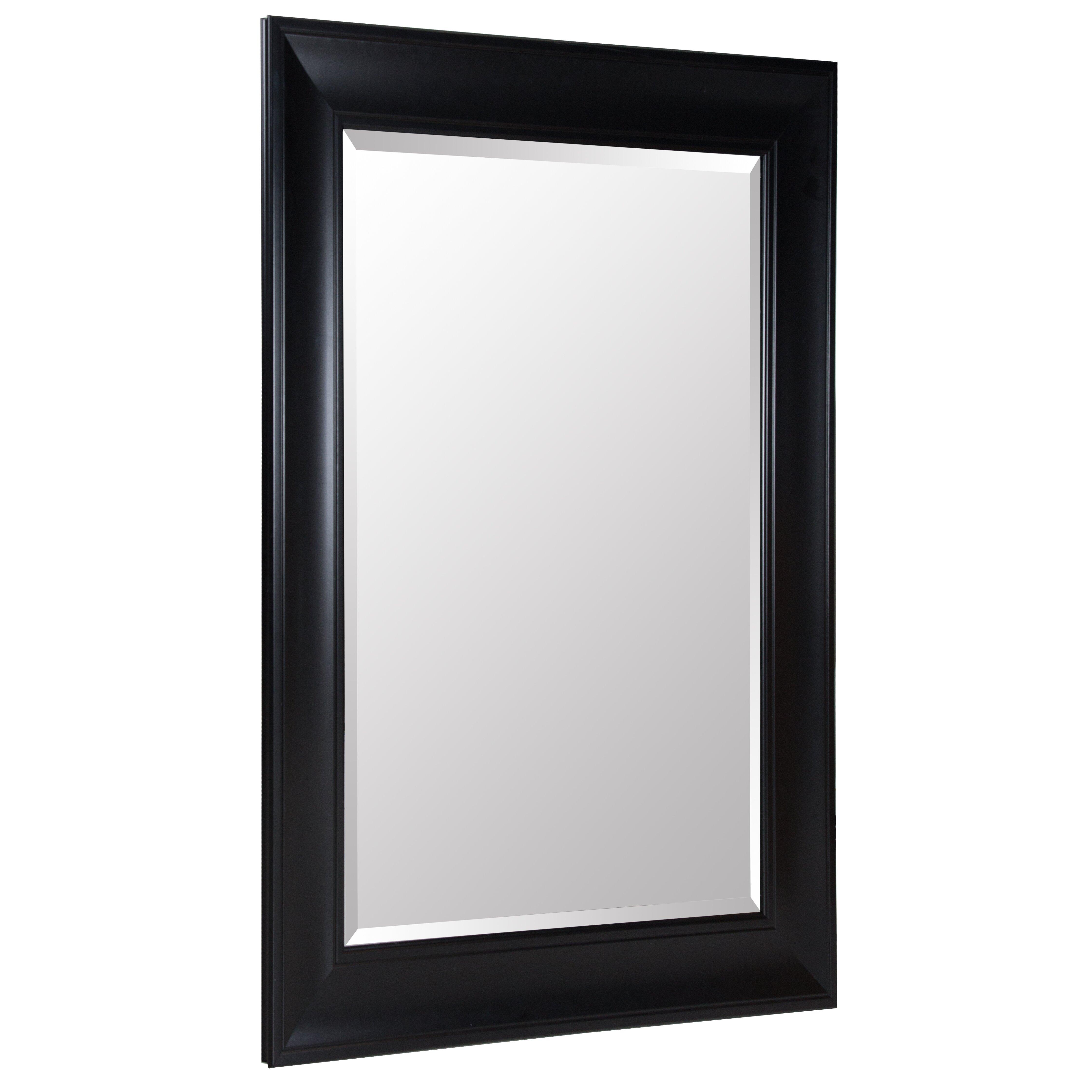 Nielsenbainbridge gallery solutions beveled wall mirror for Mirror gallery wall
