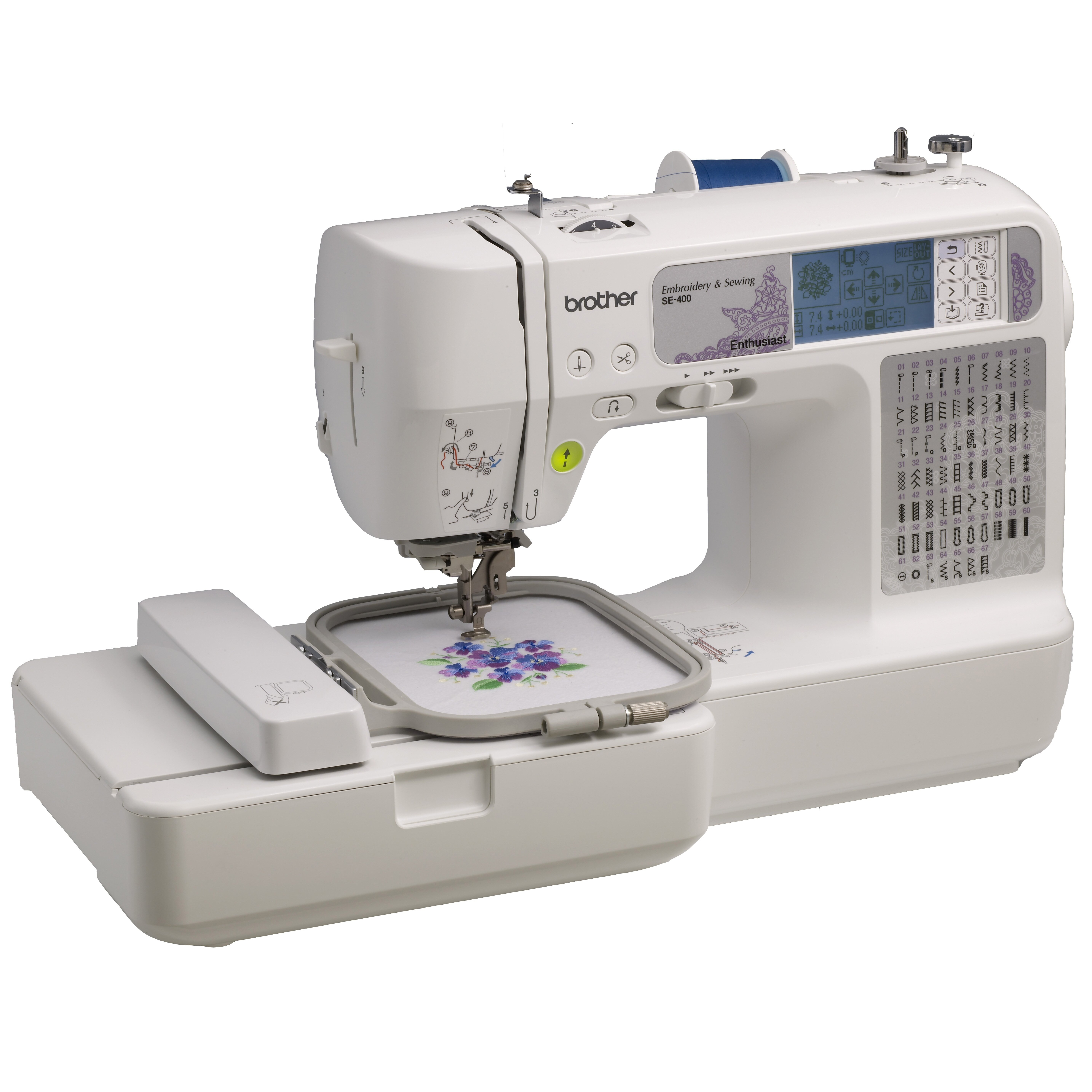 embroidery sewing machine reviews