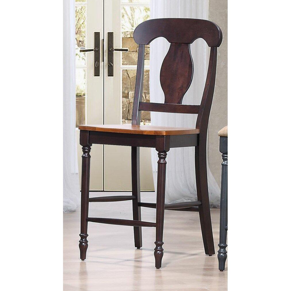 Iconic furniture 24 bar stool wayfair for Furniture 24