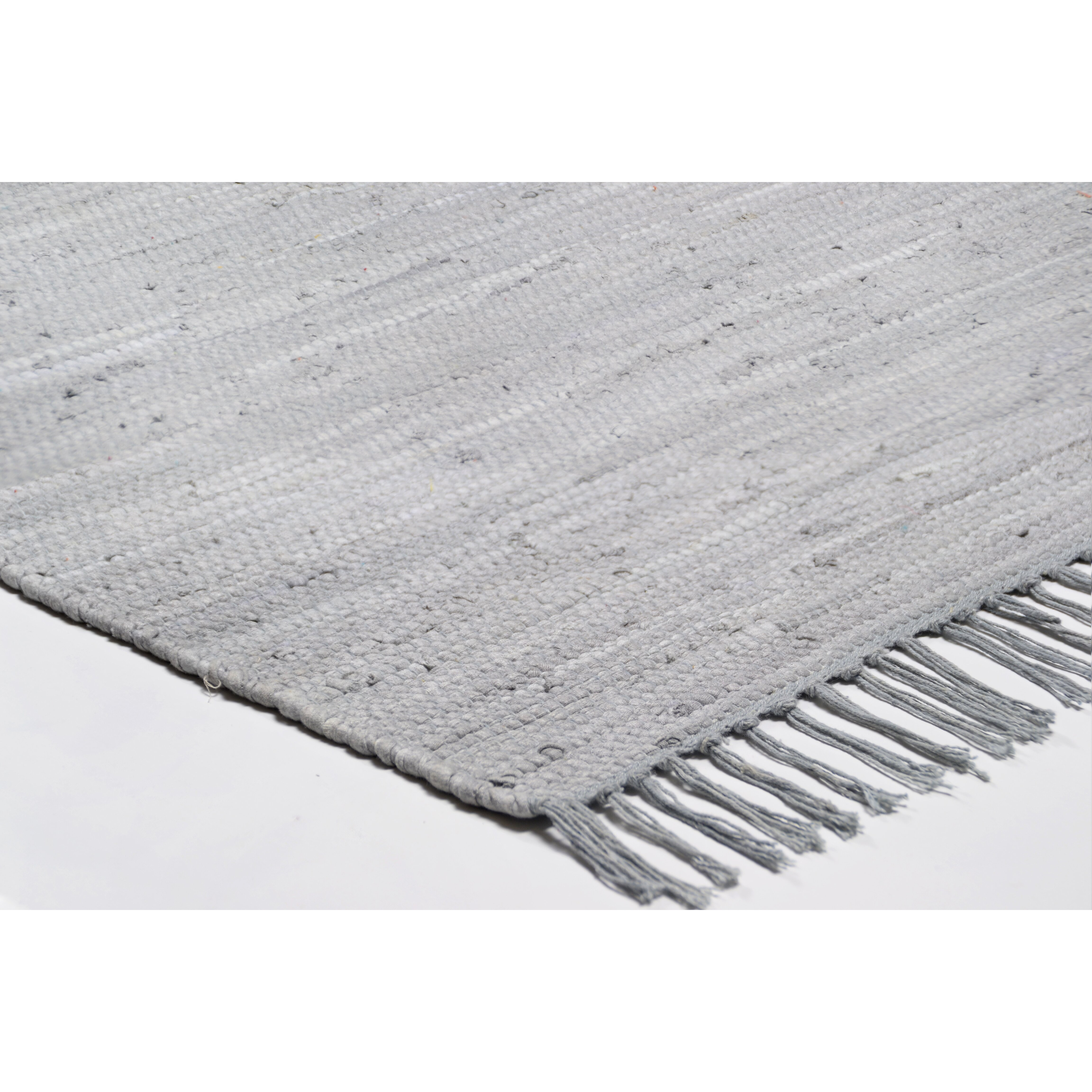 theko happy cotton hand woven grey area rug reviews wayfair uk. Black Bedroom Furniture Sets. Home Design Ideas