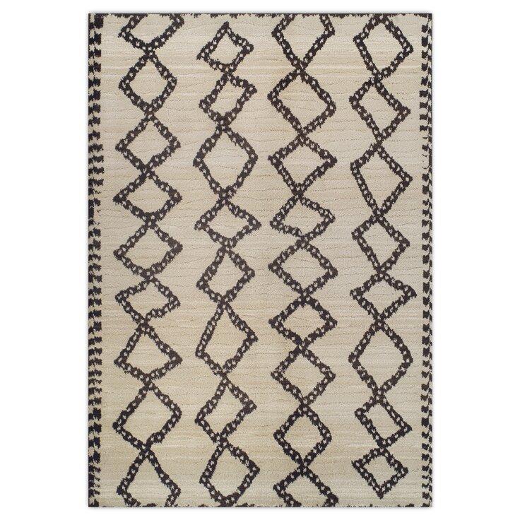 Theko teppich marrakesh in beige schwarz reviews