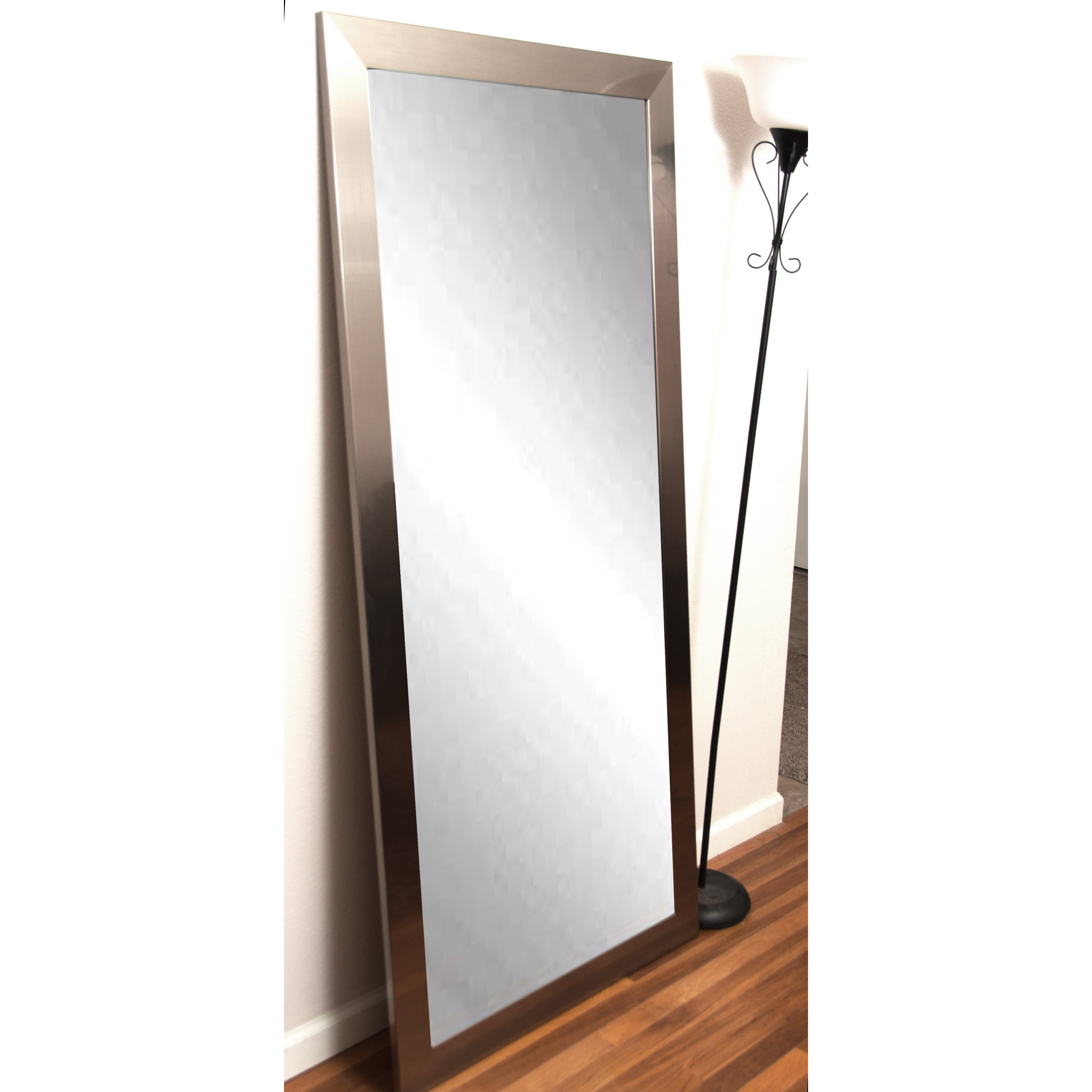 Brandtworksllc Modern Silver Floor Mirror Reviews