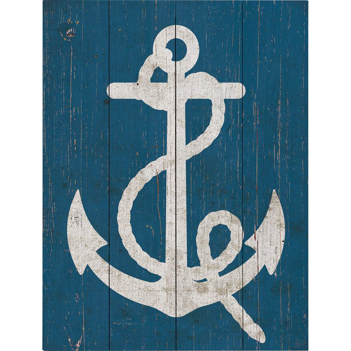 Vintage Anchor Wall Decor : Click wall art vintage anchor graphic plaque reviews