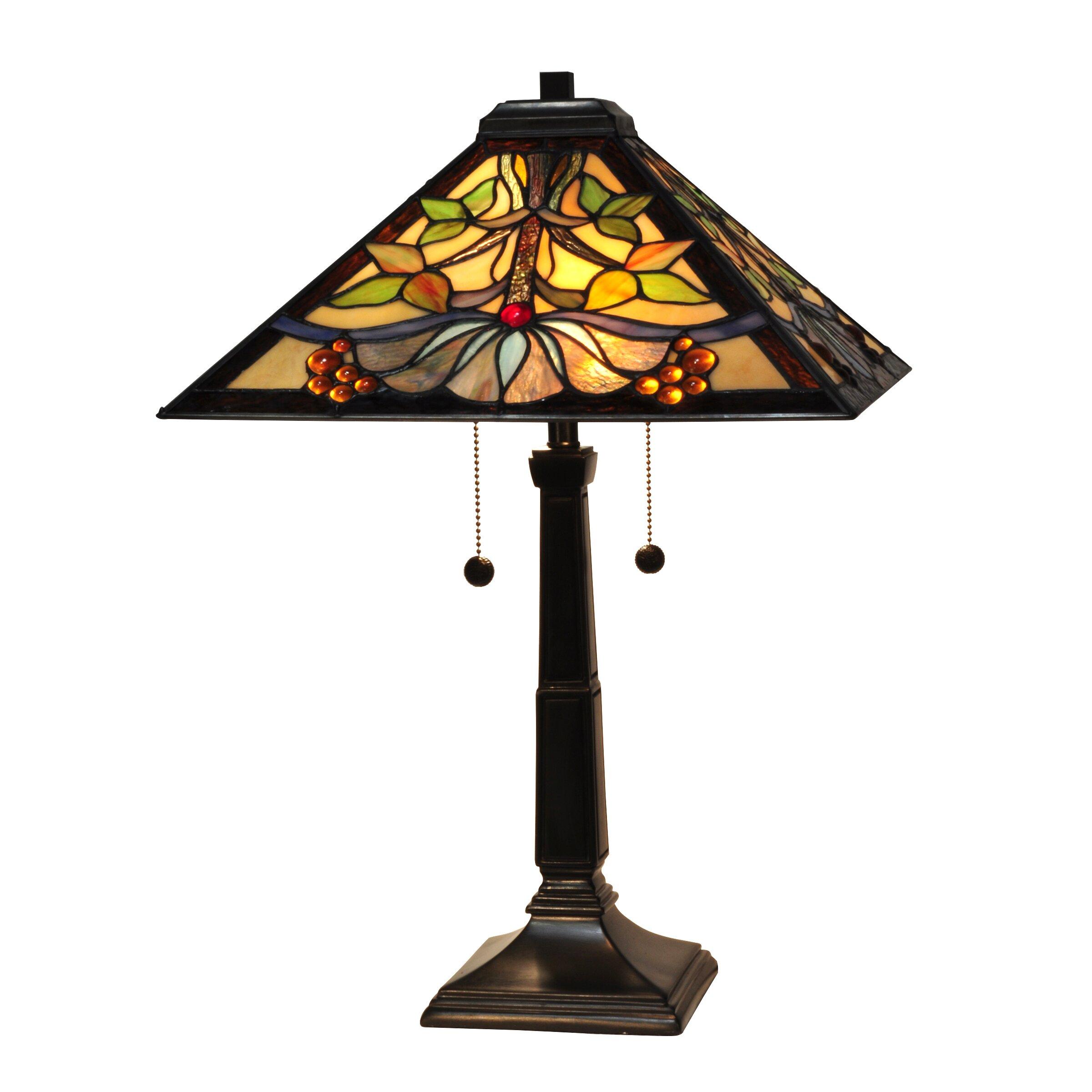 "Dale Tiffany Baja Mission 24"" Table Lamp & Reviews | Wayfair"