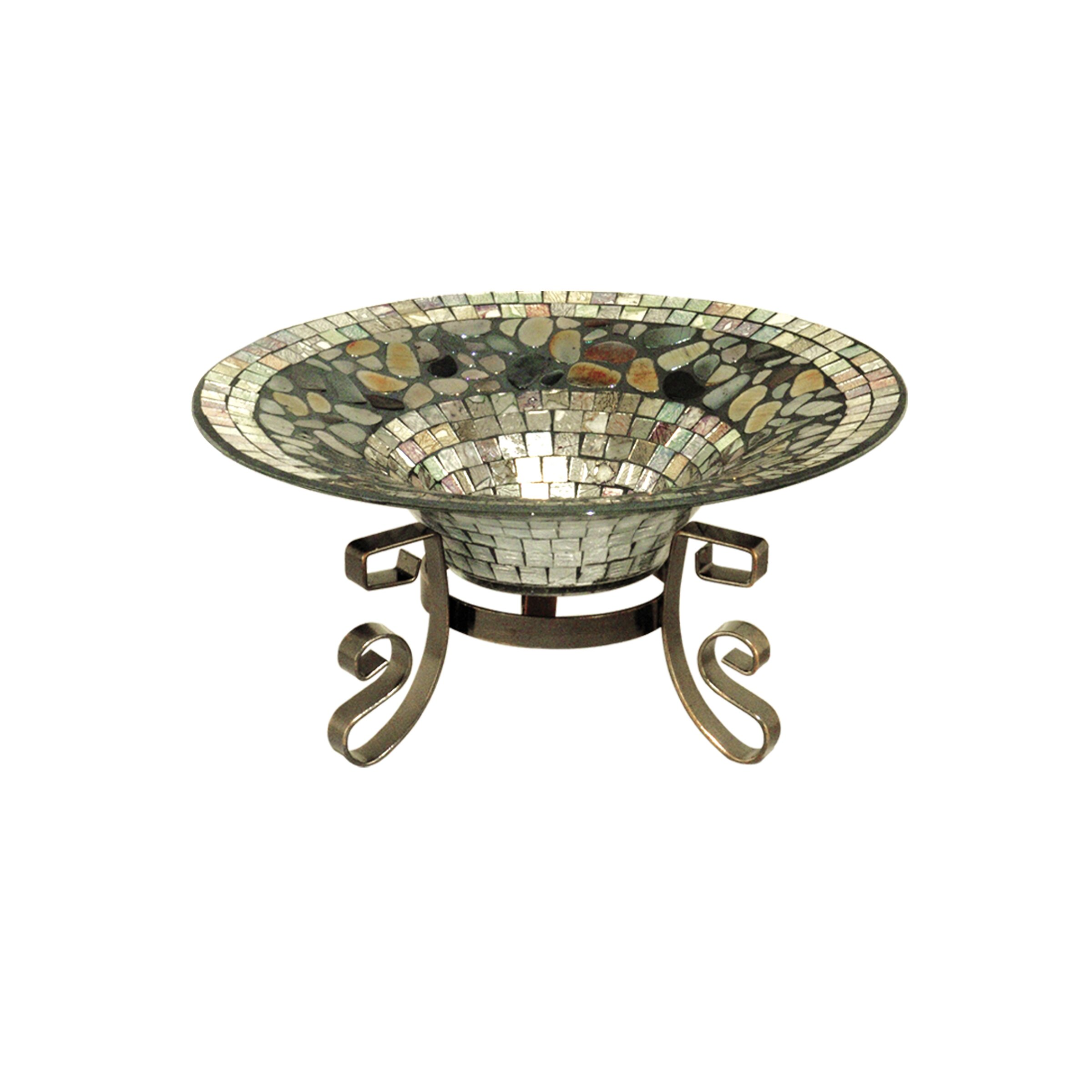 Dale Tiffany Decor Bowl With Stand Wayfair Ca
