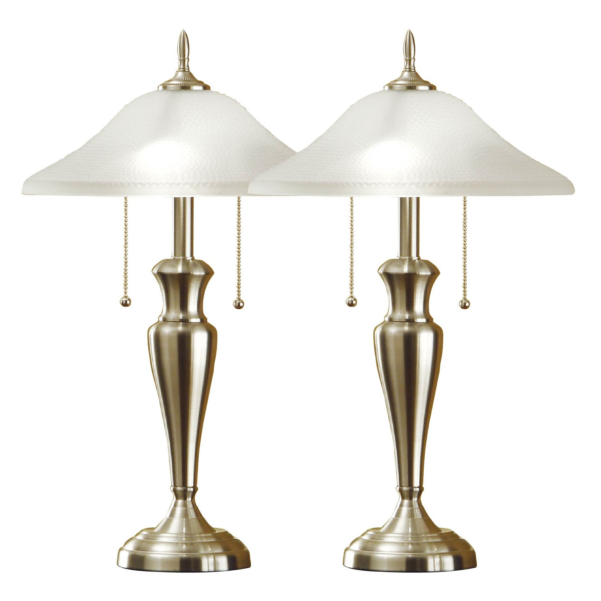 Artiva USA 24 Table Lamps Set Of 2 Amp Reviews