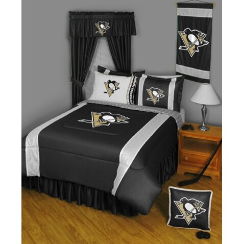 Sports Coverage Nhl Pittsburgh Penguins Sidelines Comforter Reviews