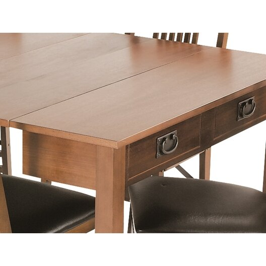 Stakmore Mission Style Expanding Dining Table Amp Reviews